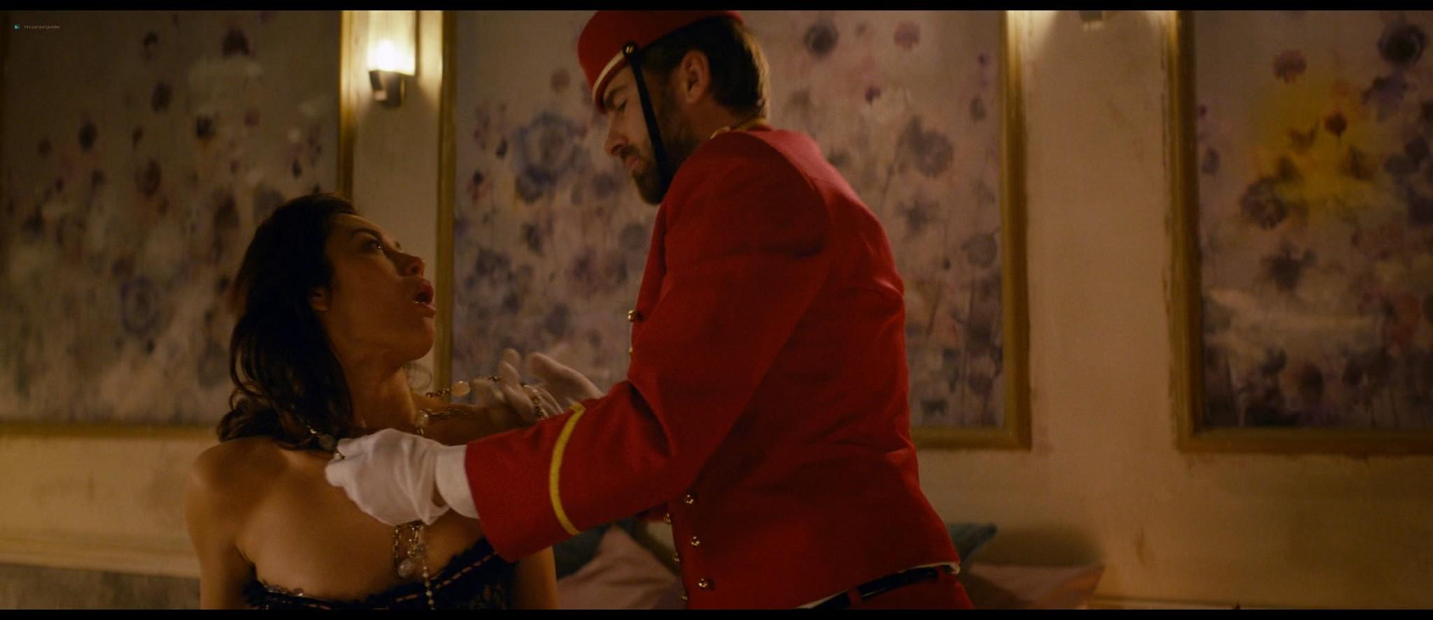 Olga Kurylenko hot and sexy in The Room (2019) HD 1080p BluRay (10)