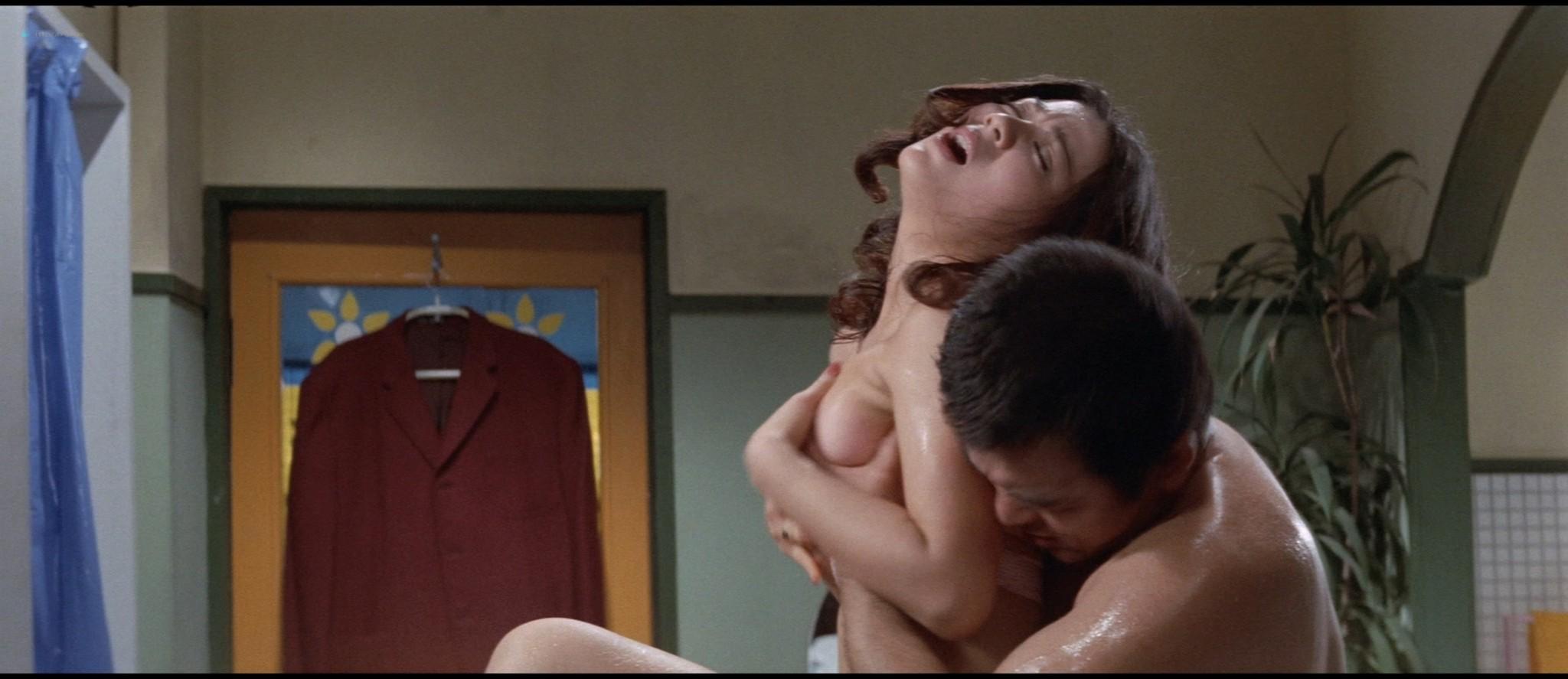 Tomoko Katsura nude sex Hidemi Hara nude sex too - Mesunekotachi no yoru (JP-1972) HD 1080p BluRay (14)