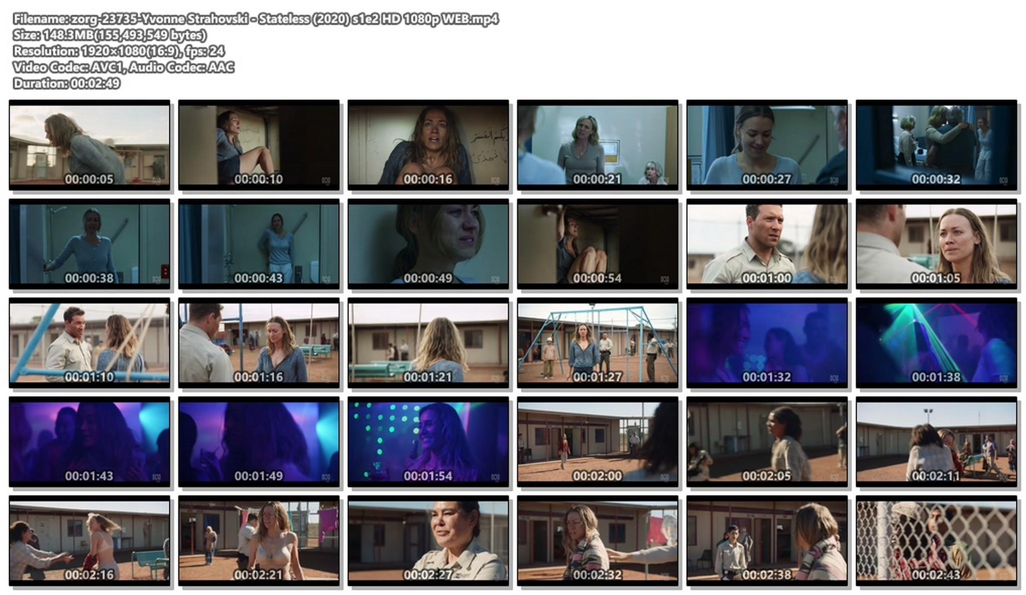 Yvonne Strahovski hot and sexy - Stateless (2020) s1e2 HD 1080p WEB (1)