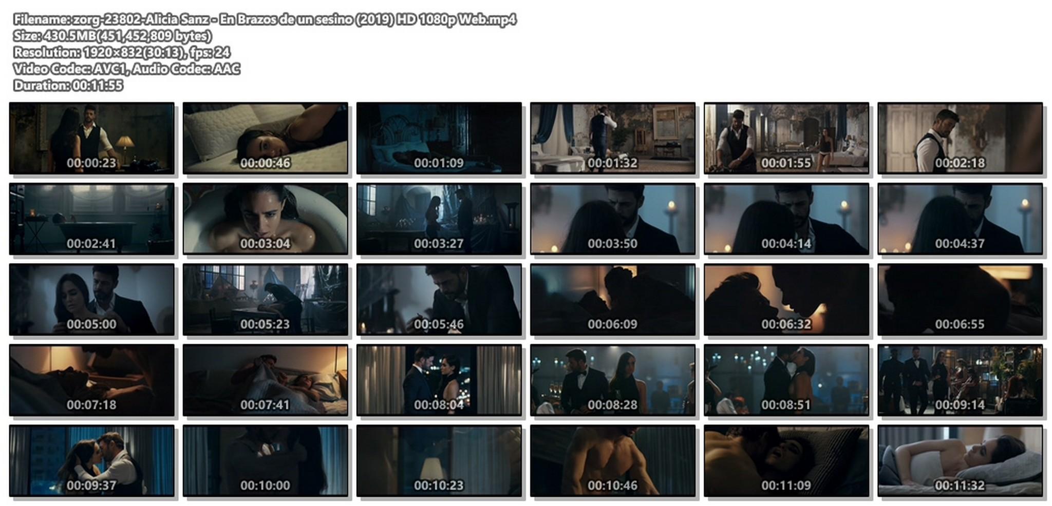 Alicia Sanz nude hot sex - En Brazos de un sesino (2019) HD 1080p Web (1)