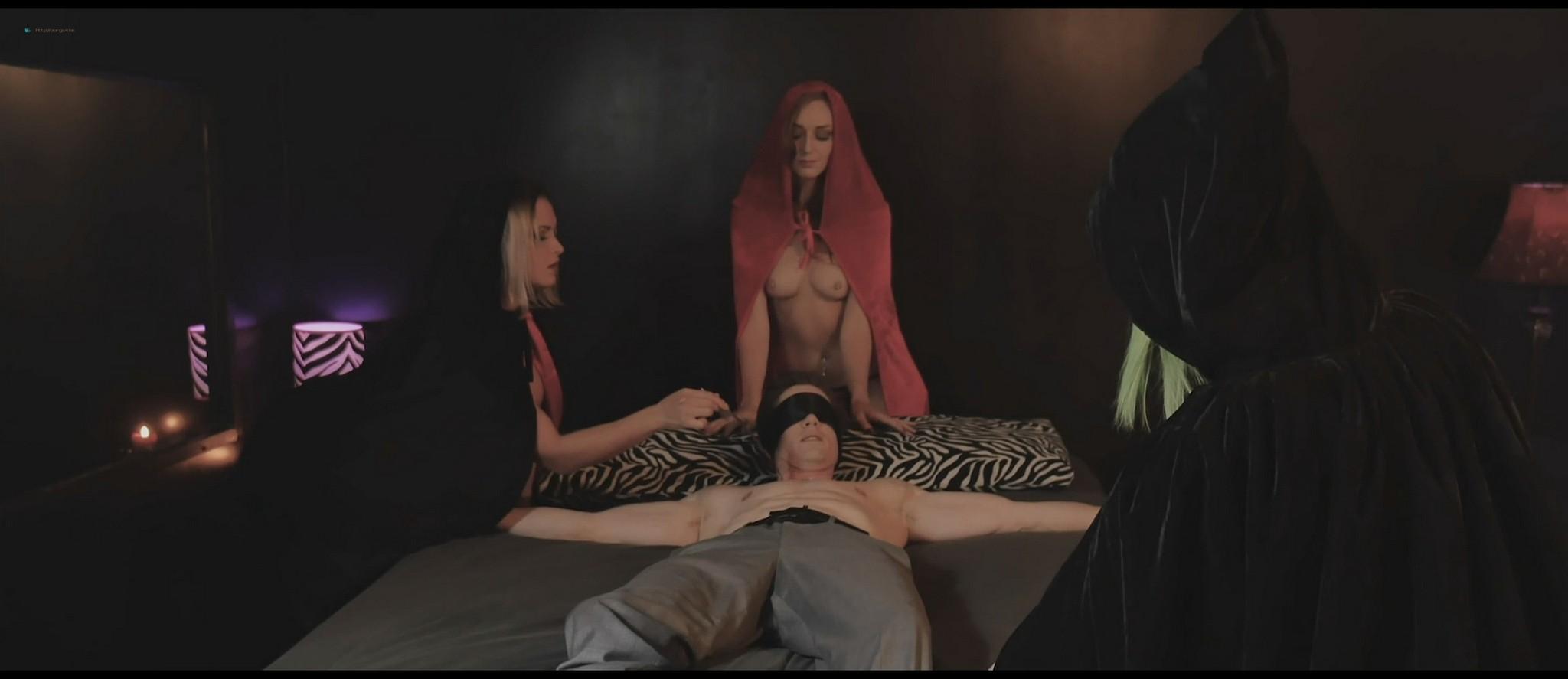 Sablique nude Fae D'Cay, Lauren Fogle nude topless - Scare Me (2016) HD 1080p Web (8)