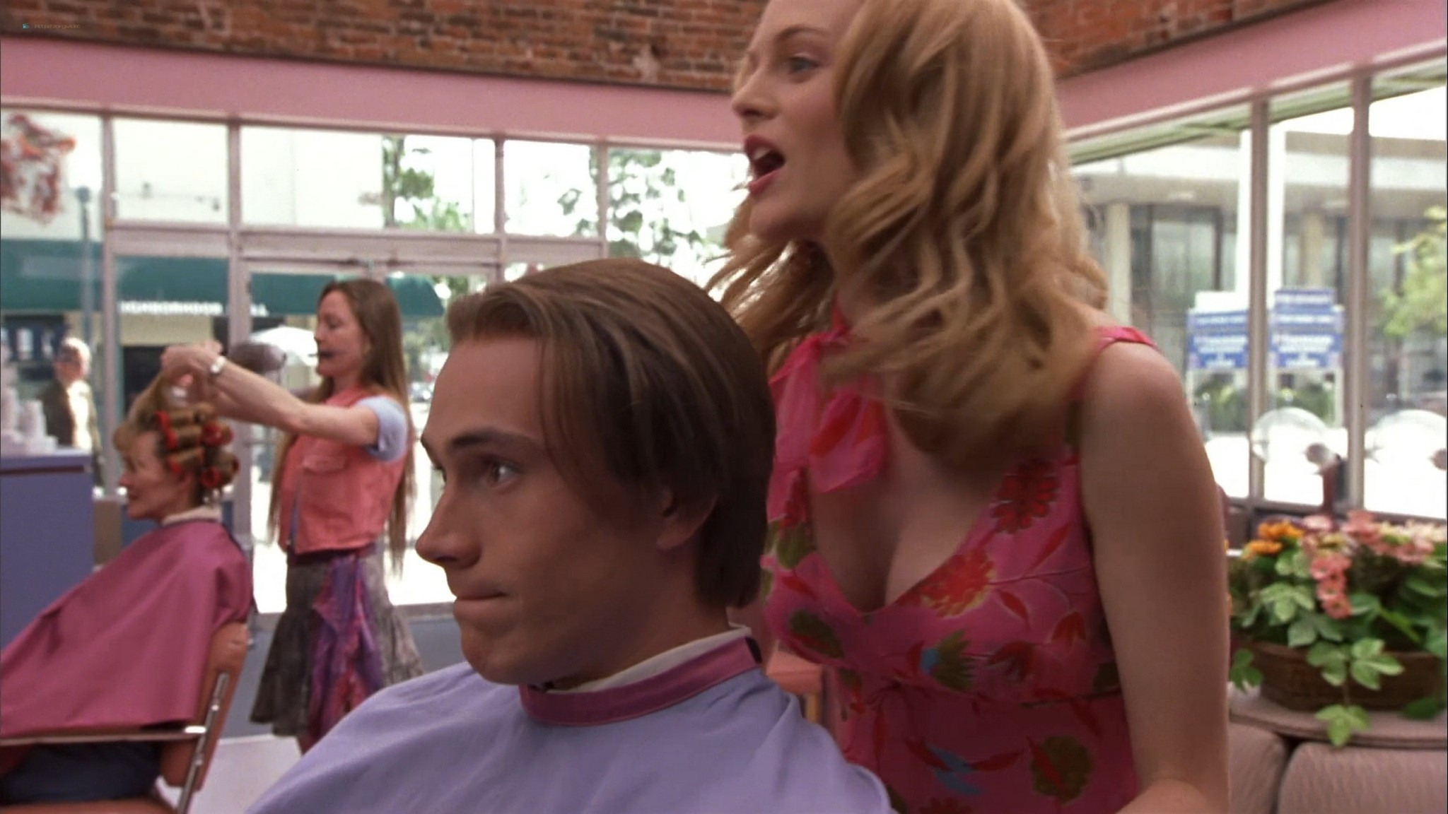Heather Graham sexy Courtney Peldon funny - Say It Isn't So (2001) HD 1080p Web (11)