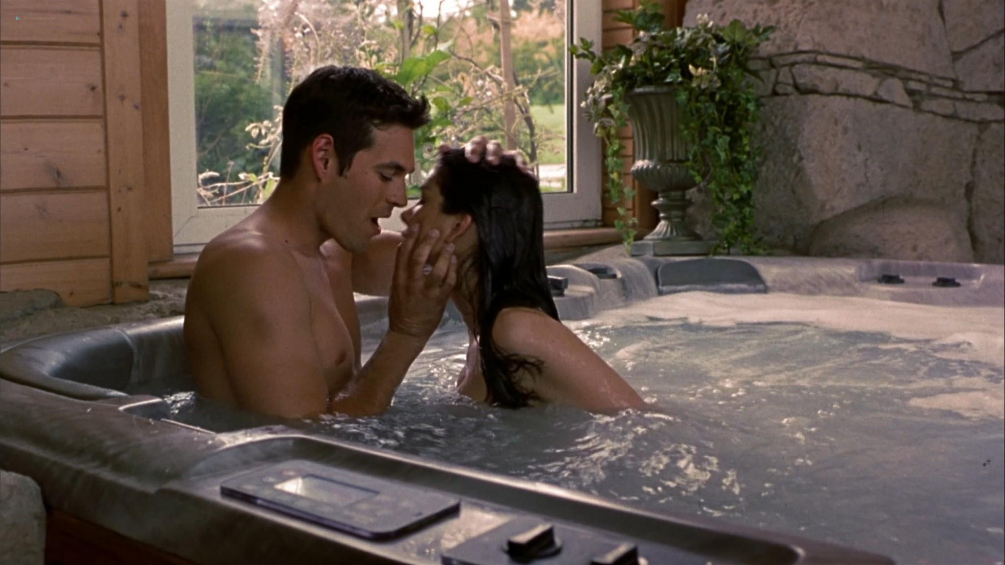 Heather Graham sexy Courtney Peldon funny - Say It Isn't So (2001) HD 1080p Web (3)