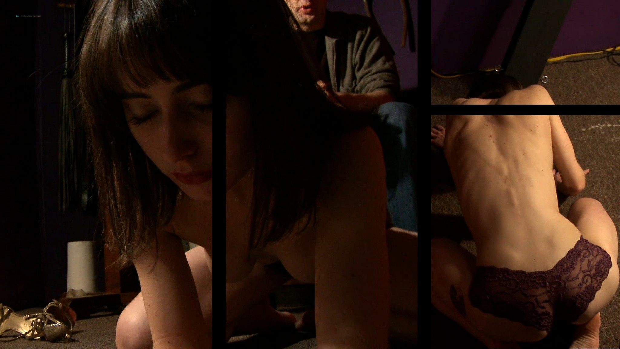 Kira Davies nude topless and sex in some hot BDMS game - Remedy (2013) HD 1080p Web (12)
