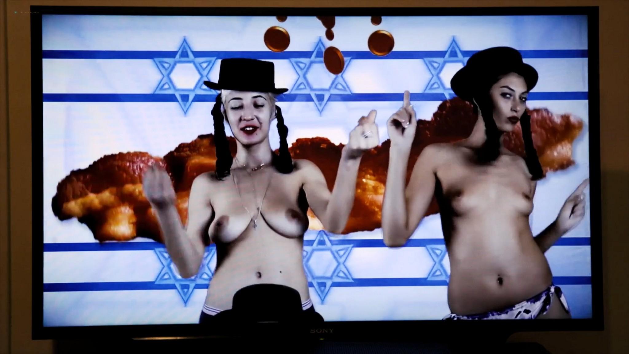 Sadie Katz nude lesbian sex with Victoria De Mare - Hanukkah (2019) HD 1080p Web (9)