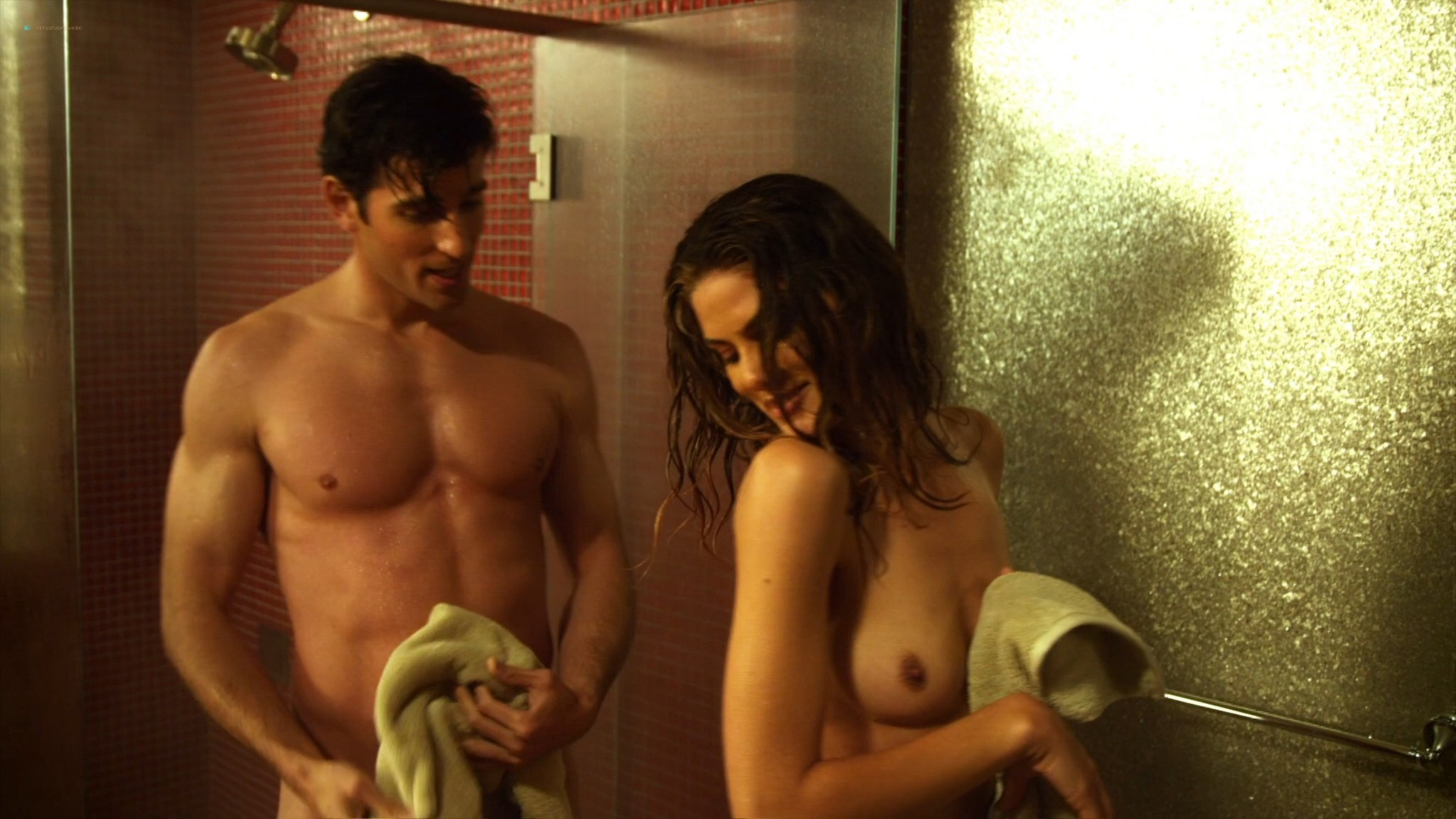 Ana Alexander nude sex Ragan Brooks naked in the shower - Chemistry (2011) s1e5 HD 1080p (11)
