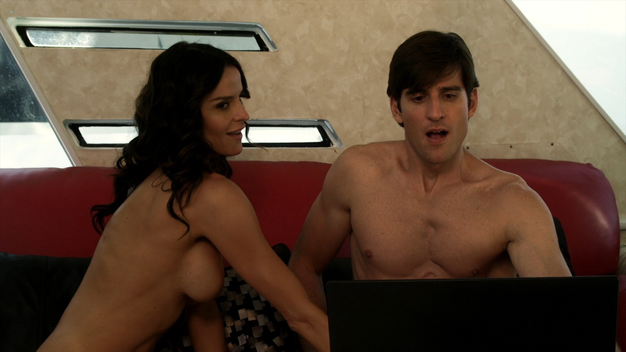 Ana Alexander nude sex Ragan Brooks naked in the shower - Chemistry (2011) s1e5 HD 1080p (5)