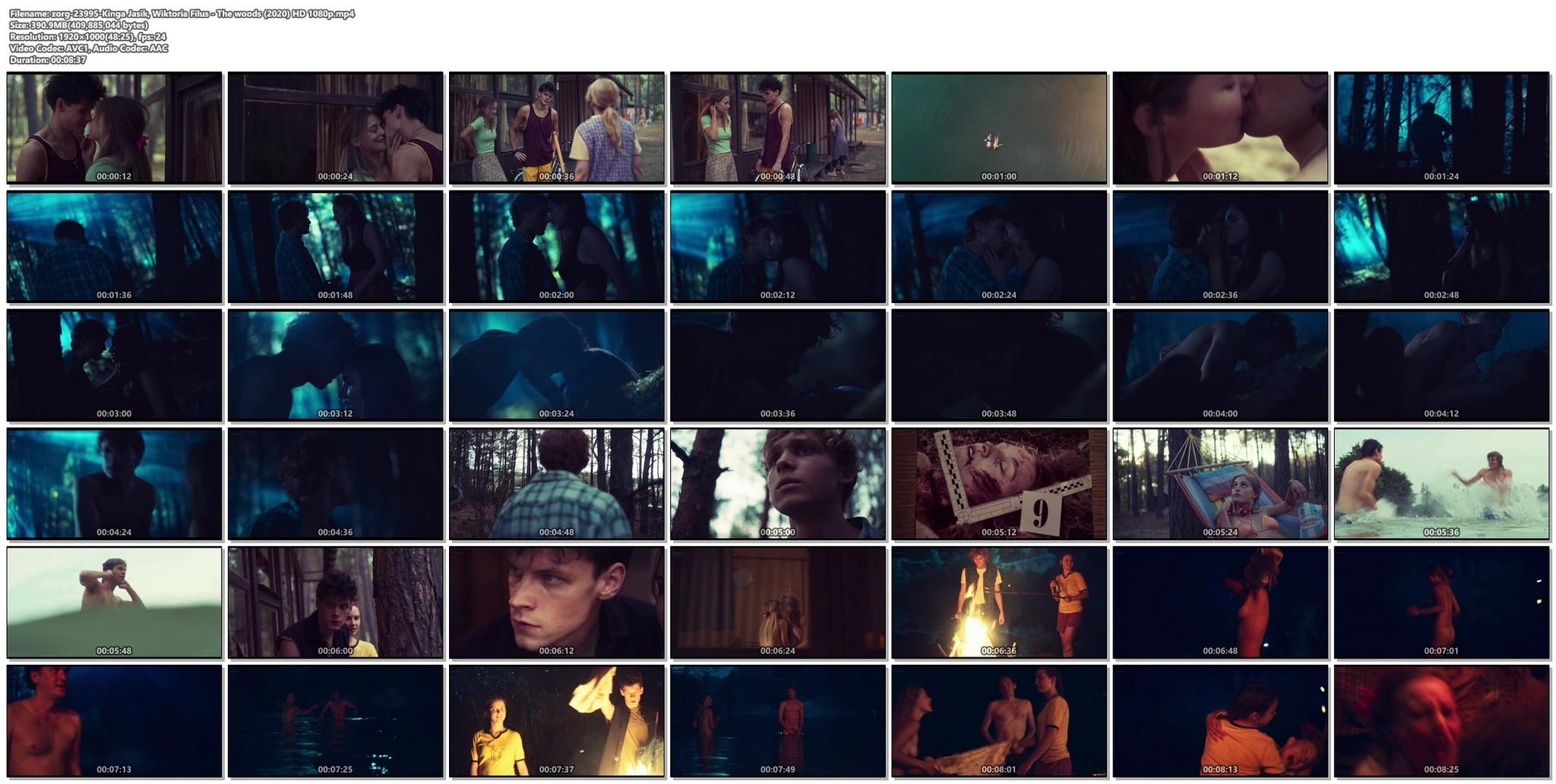 Kinga Jasik nude bush and sex Wiktoria Filus sex - The woods (2020) HD 1080p (1)