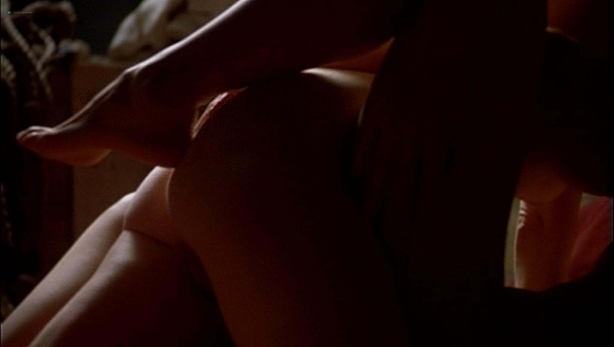 Pascale Bussières nude lesbian sex with Rachael Crawford - When Night Is Falling (1995) (9)