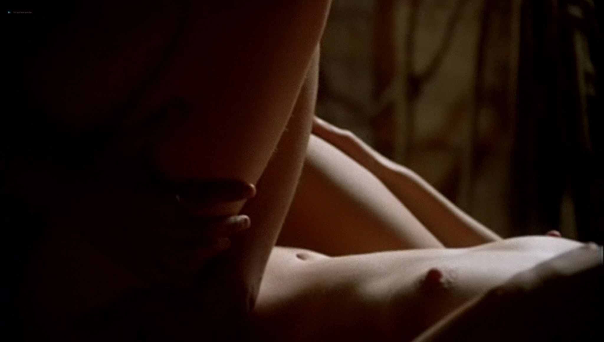 Pascale Bussières nude lesbian sex with Rachael Crawford - When Night Is Falling (1995) (8)