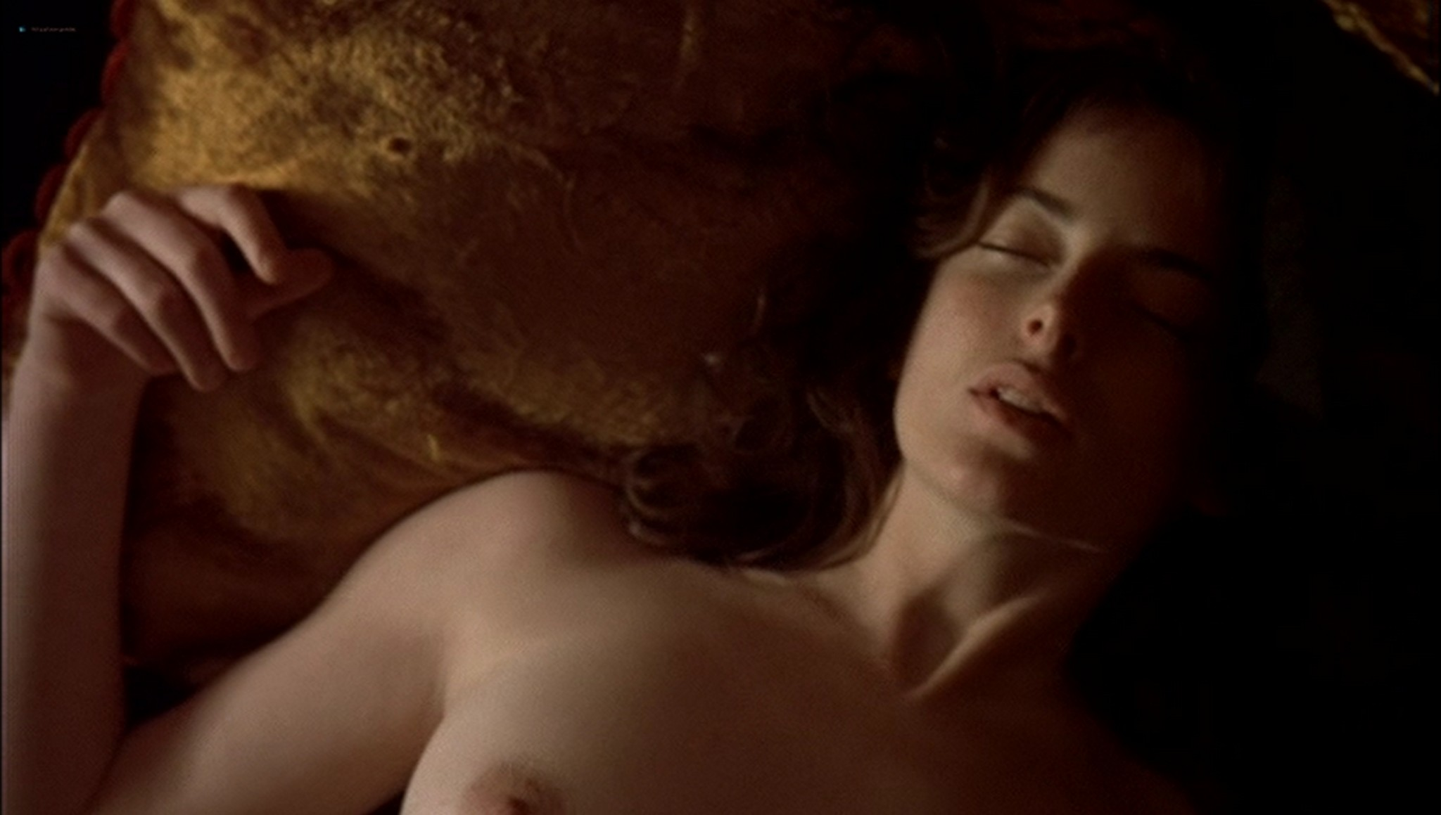 Pascale Bussières nude lesbian sex with Rachael Crawford - When Night Is Falling (1995) (5)
