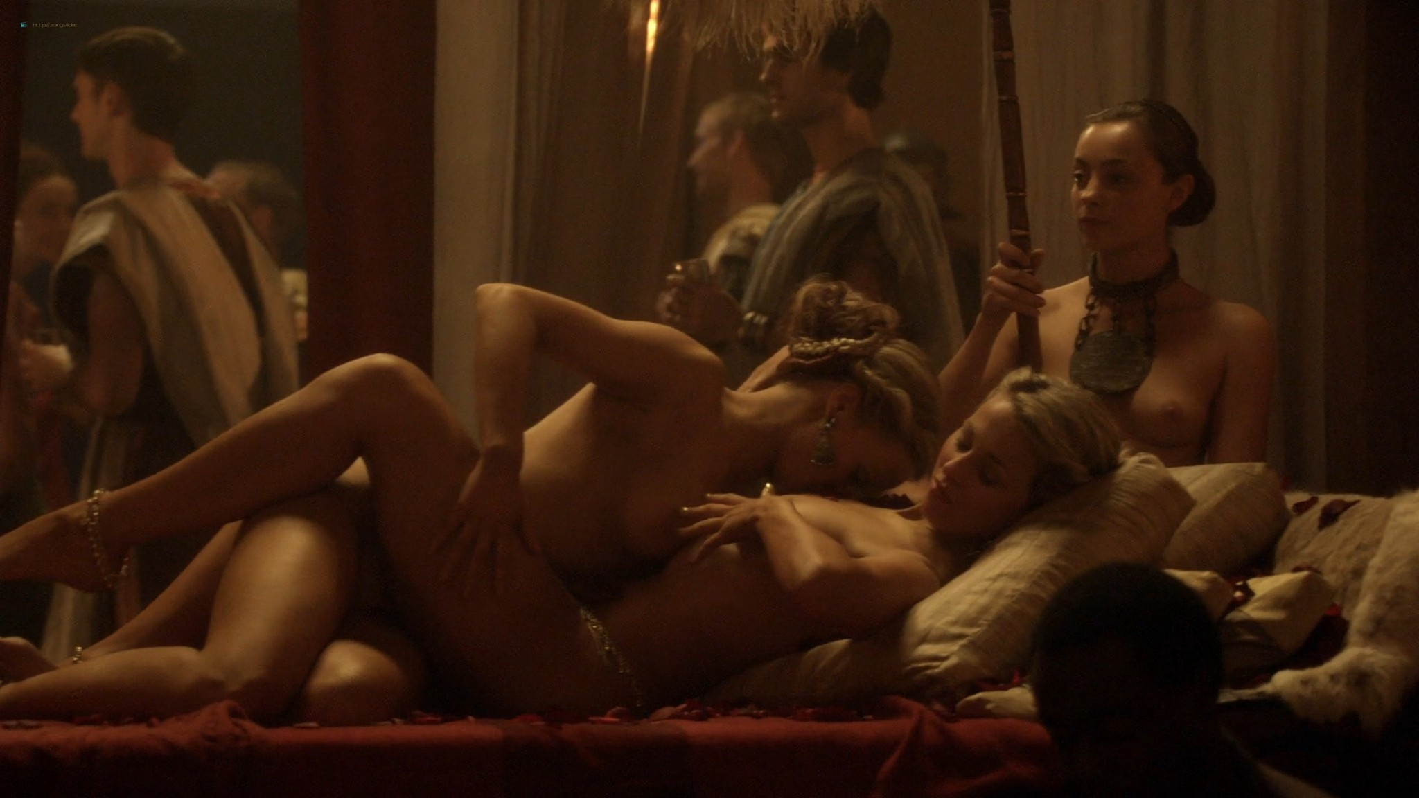 Viva Bianca nude full frontal Erin Cummings and others nude - Spartacus -The Red Serpent (2010) HD 1080p BluRay (3)