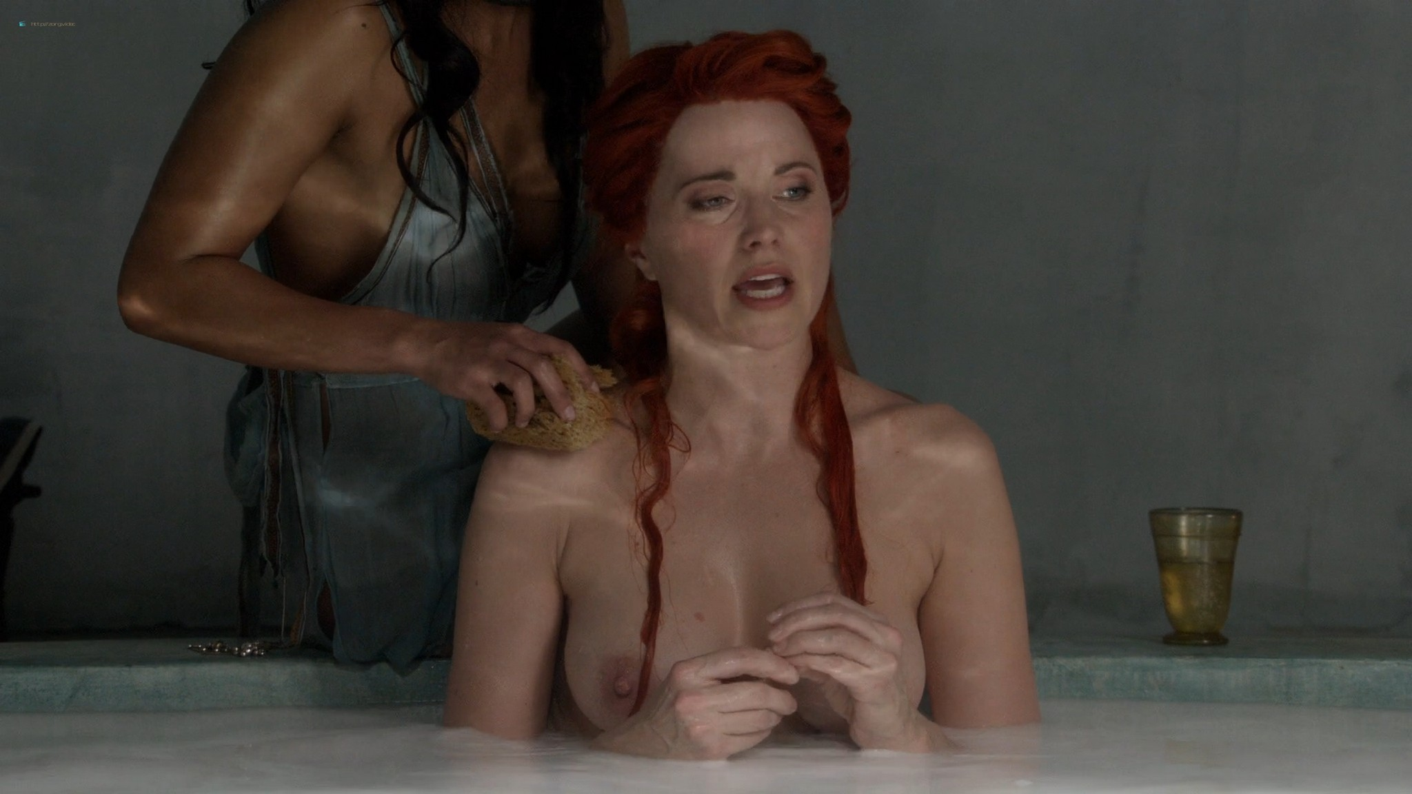 Lucy Lawless nude Katrina Law full-frontal Viva Bianca, etc nude - Spartacus (2010) Whore s1e9 HD 1080p BluRay (12)