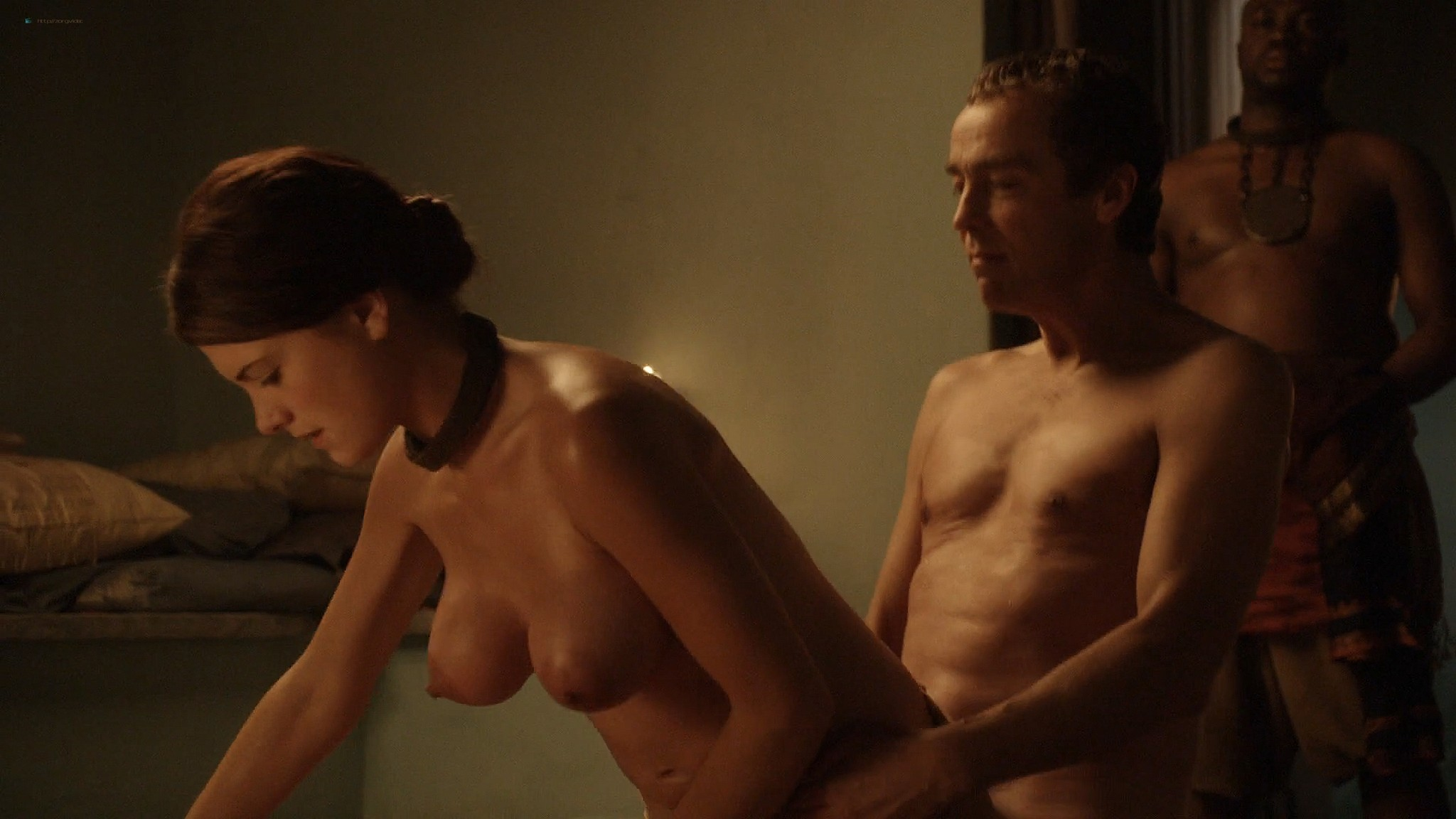 Lucy Lawless nude Lesley-Ann Brandt and other nude sex too - Spartacus (2010) Delicate Things s1e6 HD 1080p BluRay (12)