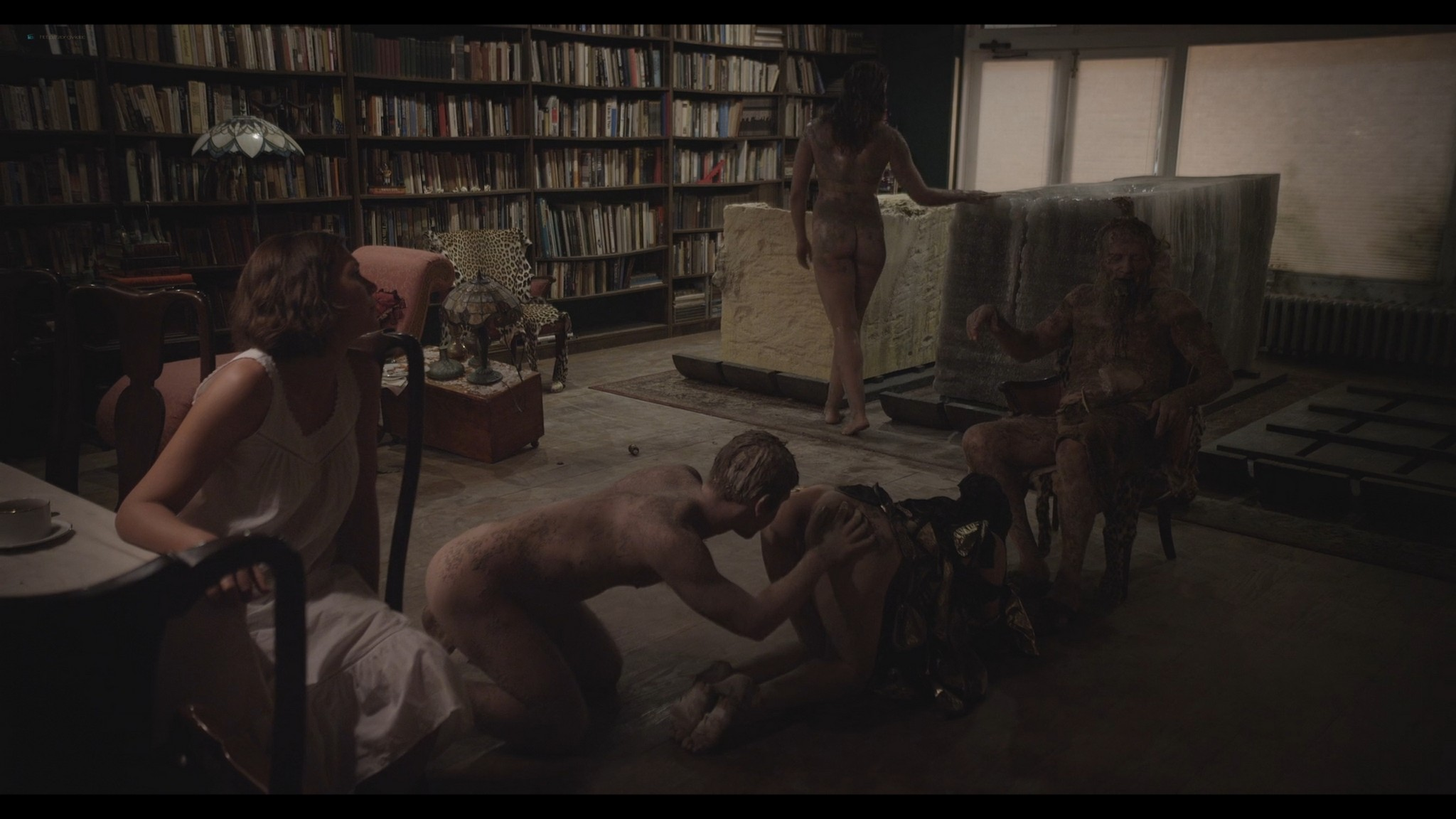 Maggie Gyllenhaal nude lactating Aimee Mullins, Adrianna Nicole, and others nude end explicit - River of Fundament (2014) HD 1080p (7)