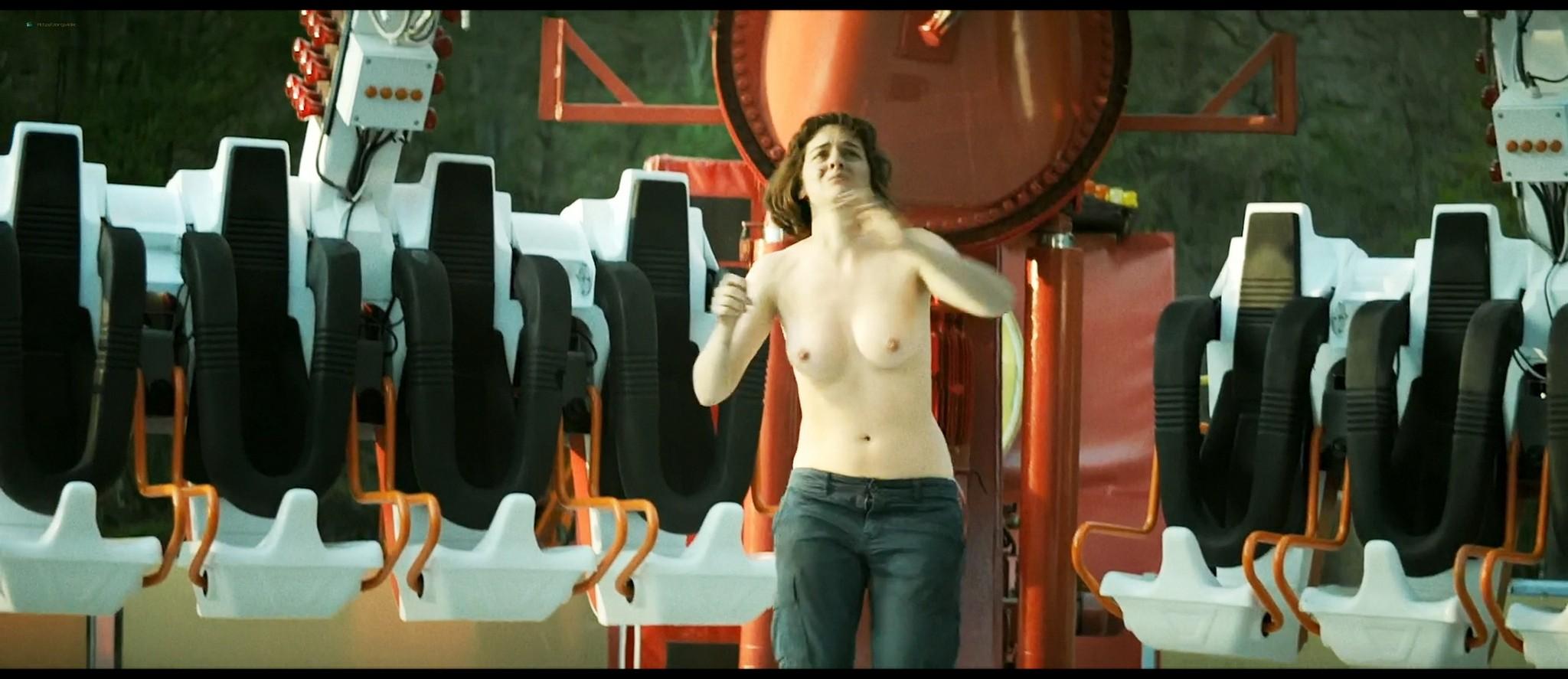 Noémie Merlant nude bush, topless and sex - Jumbo (FR-2020) HD 1080p Web (3)