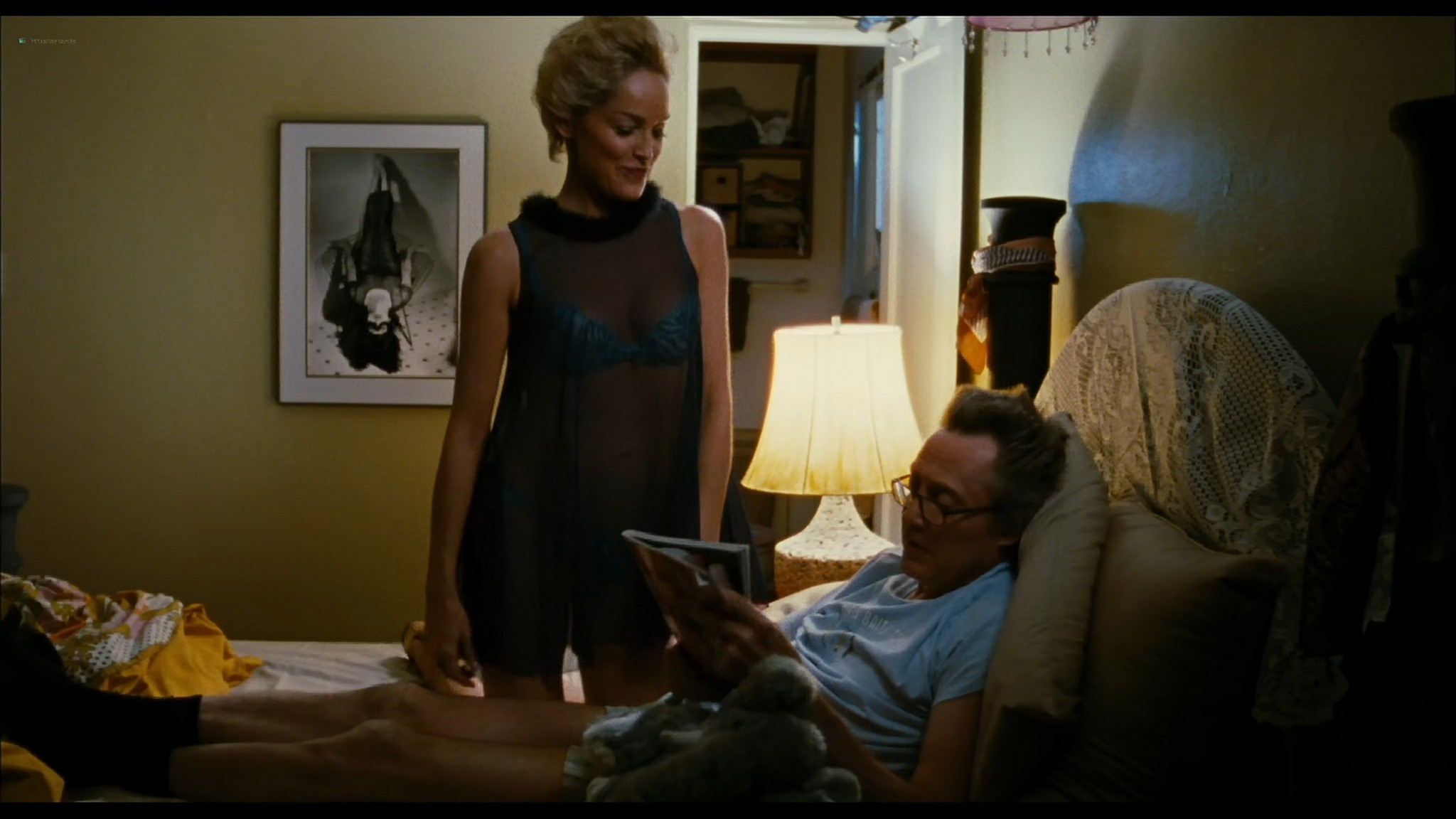 Sharon Stone hot and sexy - Five Dollars a Day (2008) HD 1080p BluRay (3)