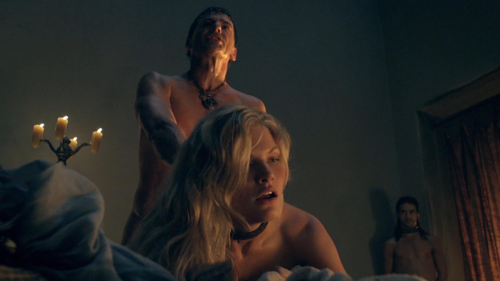 Viva Bianca nude Katrina Law, Bonnie Sveen all nude -Spartacus - Vengeance (2012) e2 1080p (12)