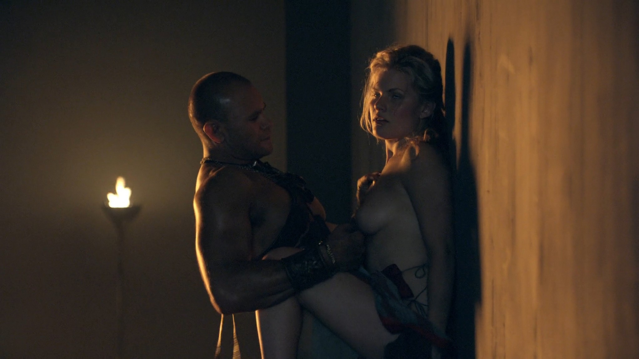 Viva Bianca nude Katrina Law, Bonnie Sveen all nude -Spartacus - Vengeance (2012) e2 1080p (3)