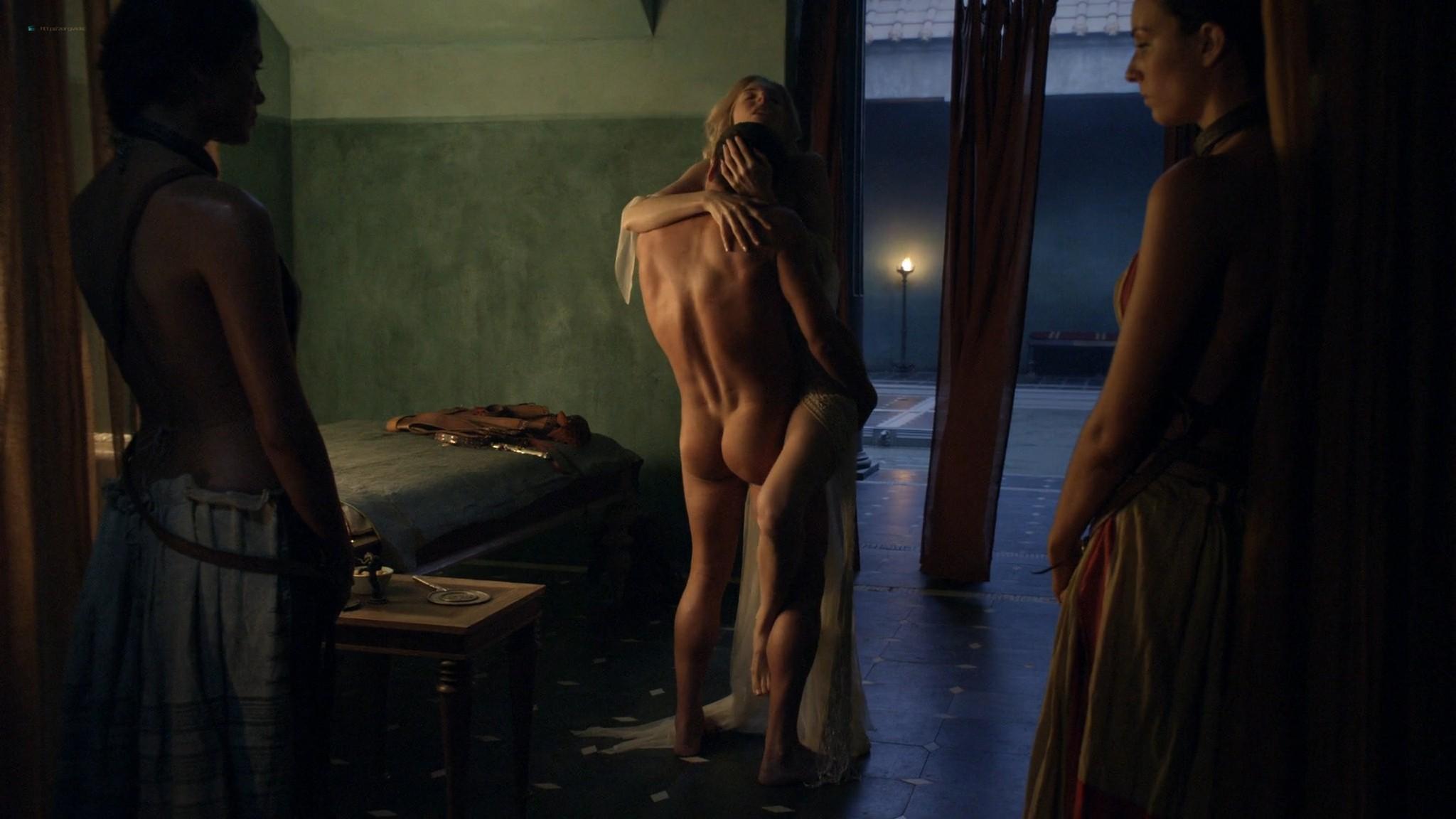 Viva Bianca nude topless Katrina Law, Bonnie Sveen, etc -Spartacus - Vengeance (2012) e3 1080p (13)