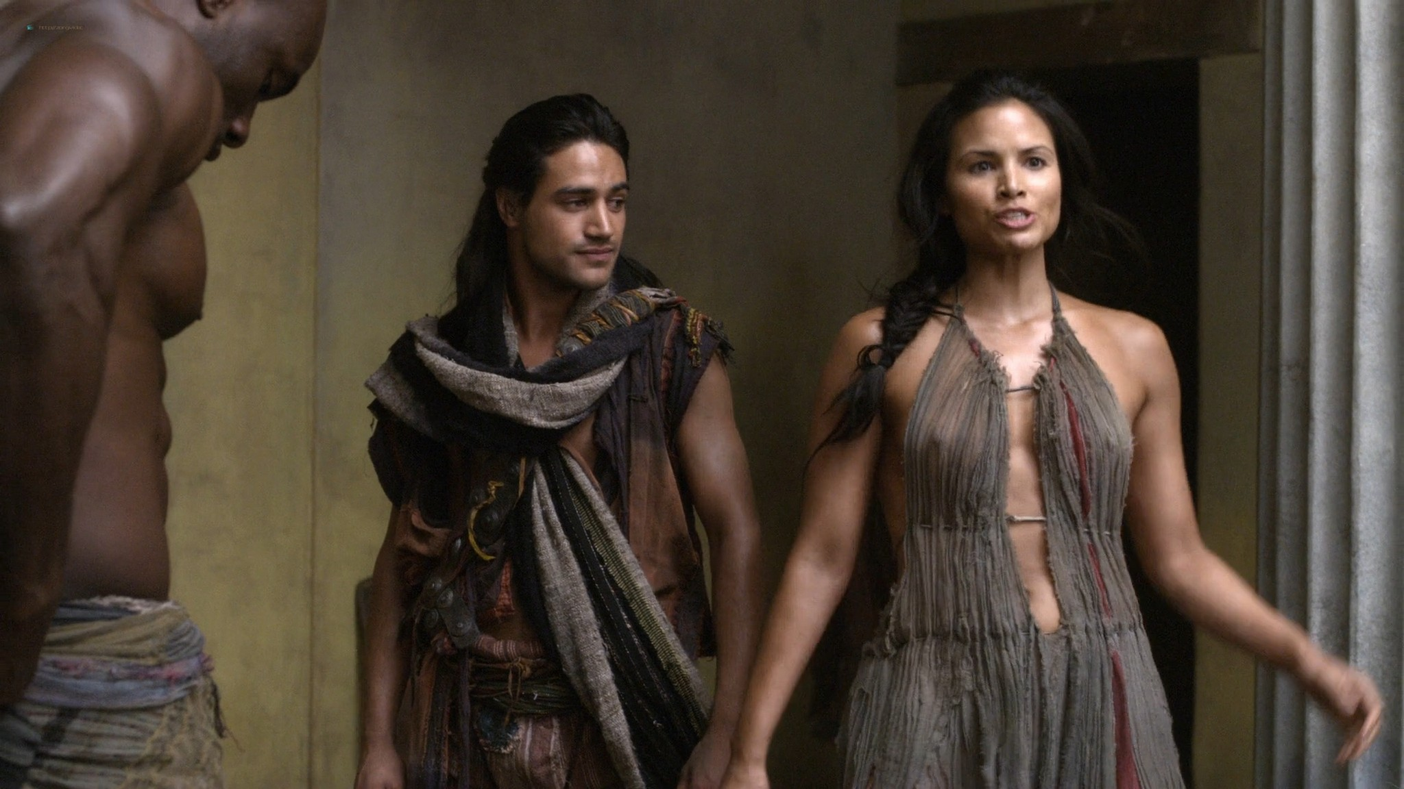 Viva Bianca nude topless Katrina Law, Bonnie Sveen, etc -Spartacus - Vengeance (2012) e3 1080p (6)