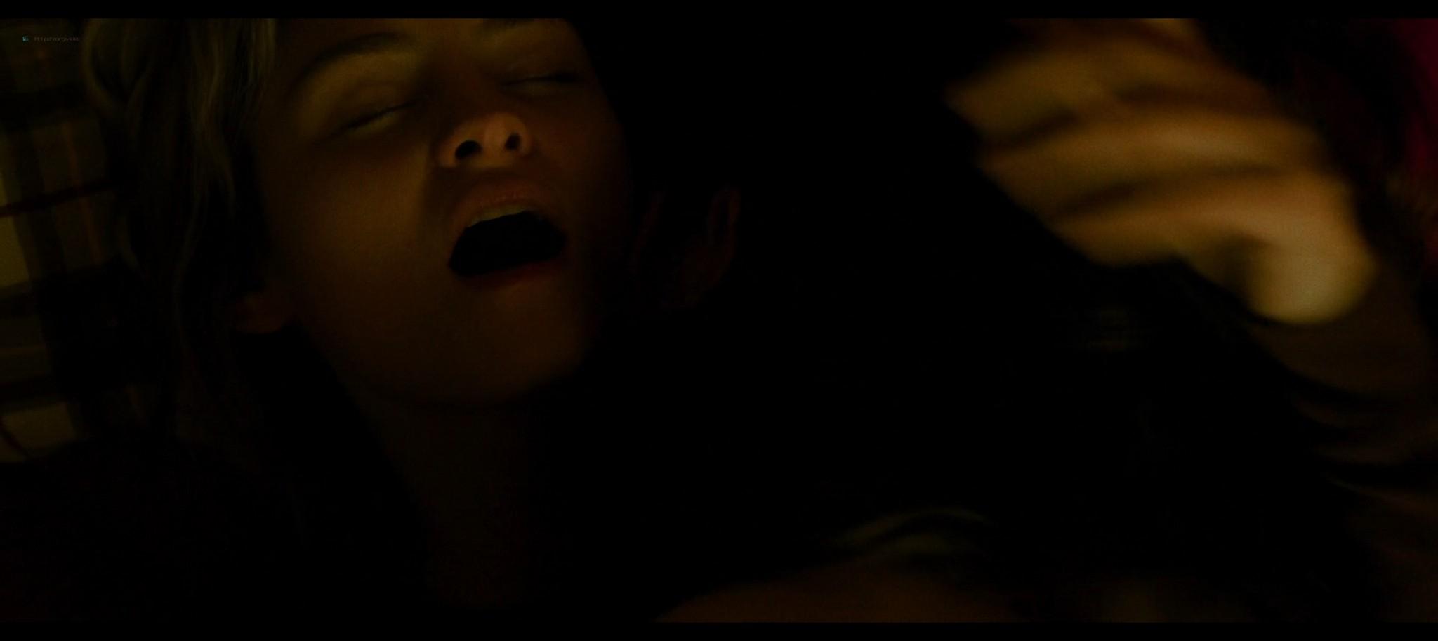 Anna Shields nude topless Rachel Finninger hot lesbian sex - Monstrous (2020) HD 1080p Web (10)