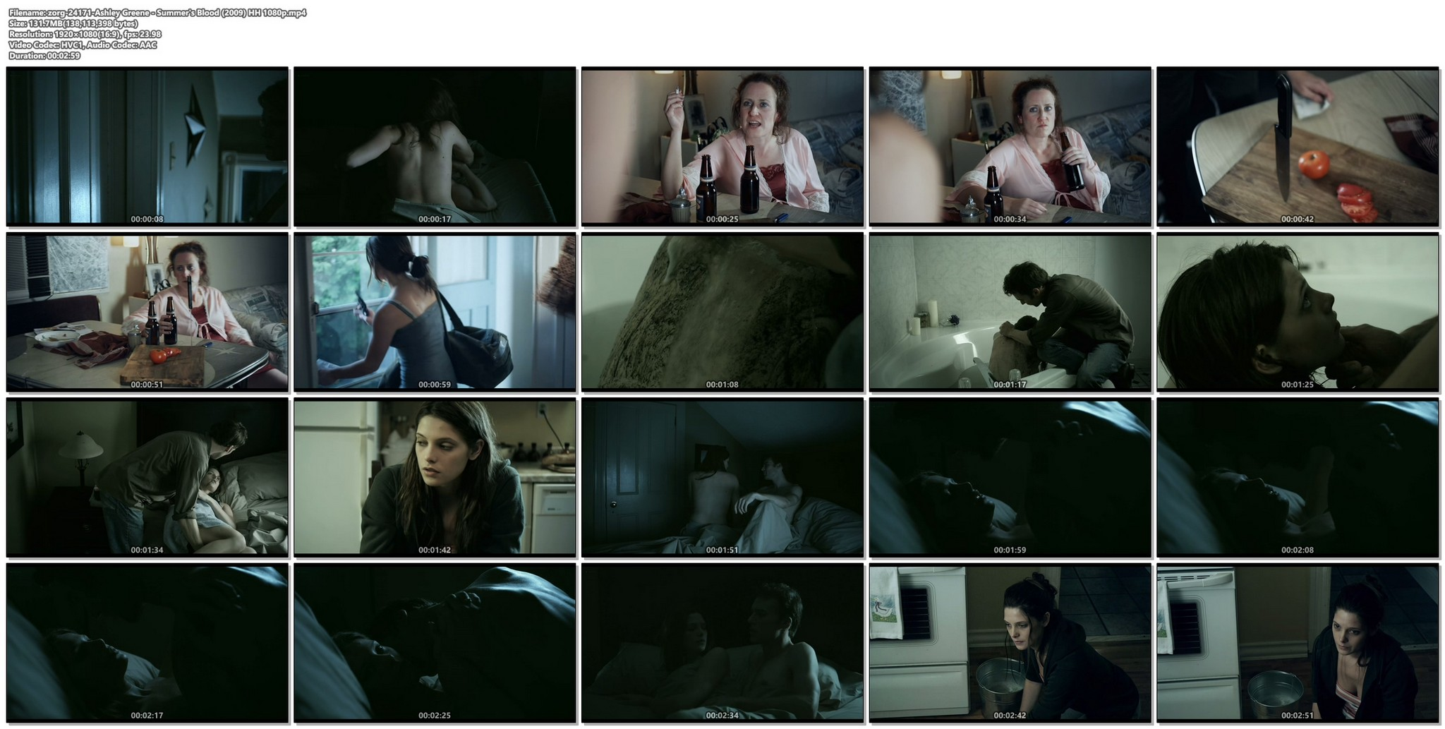 Ashley Greene hot and sexy - Summer's Blood (2009) HD 1080p Web (1)