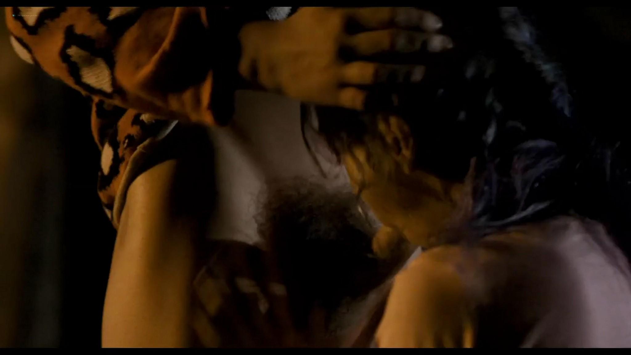 Gloria Granja nude explicit oral - Jesus (2016) HD 1080p Web (2)