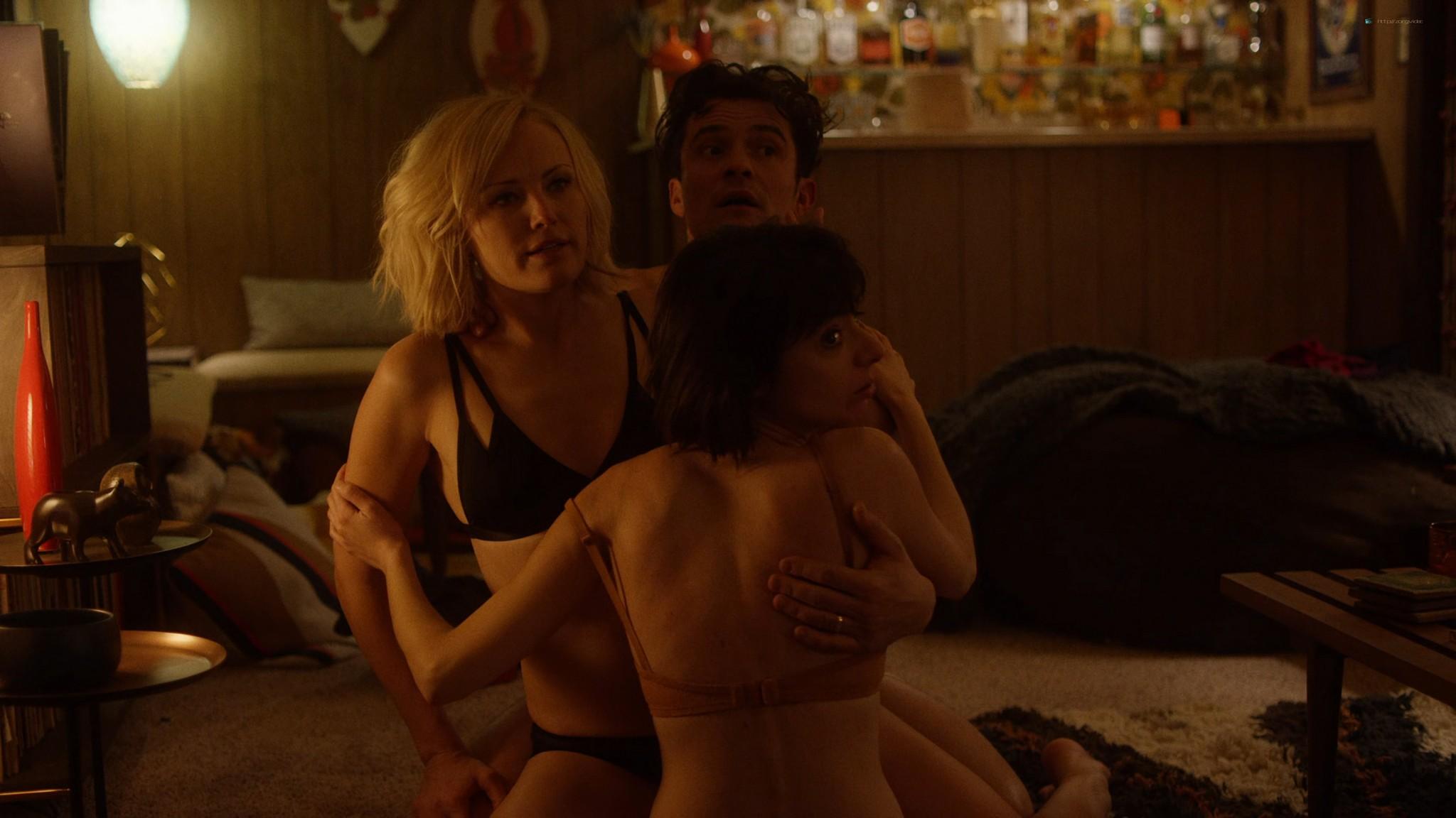 Malin Akerman nude sex threesome with Kate Micucci Easy 2016 s1e6 UHD 2160 1080p 005