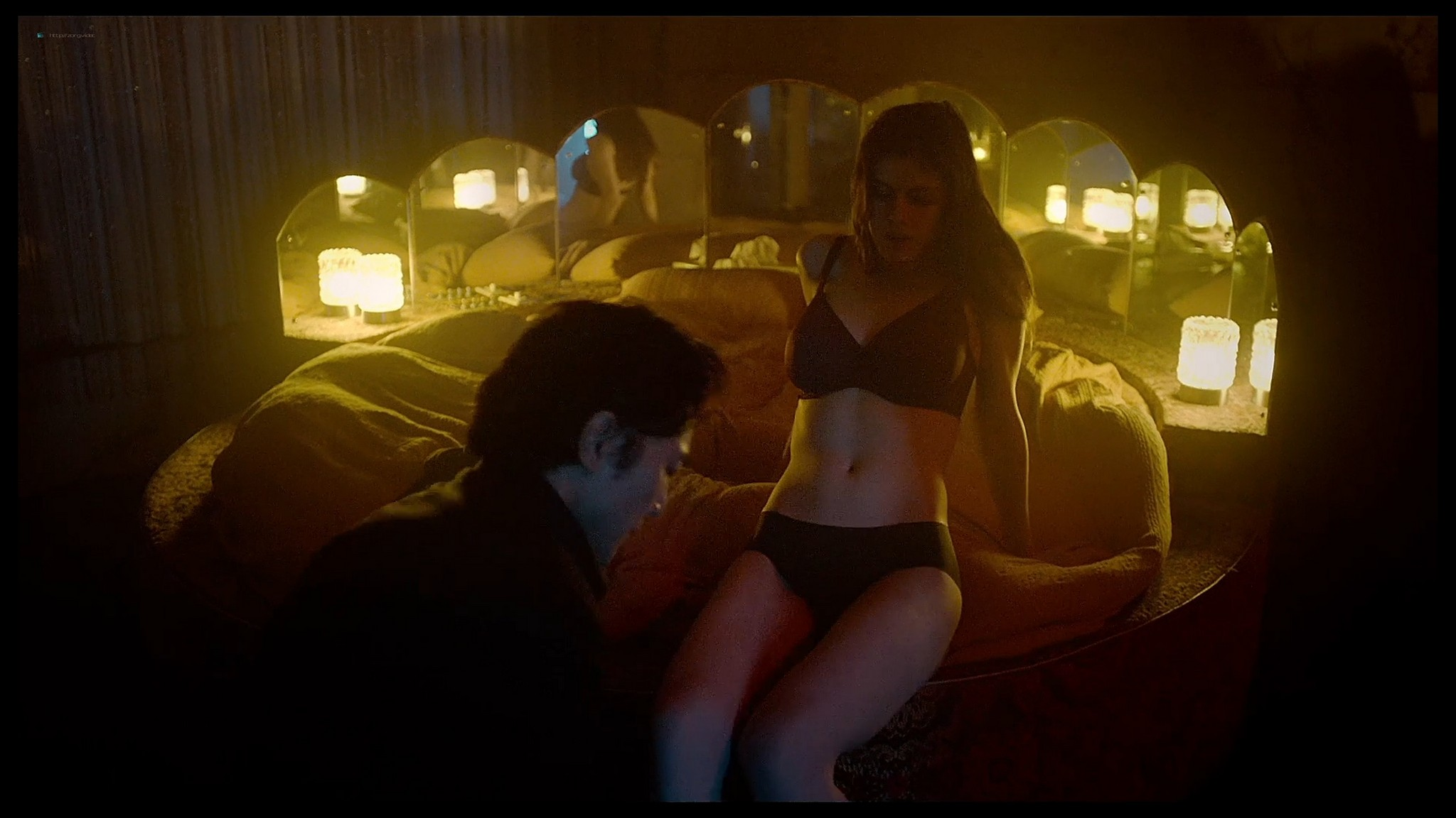 Alexandra Daddario nude butt and topless Lost Girls and Love Hotels 2020 HD 1080p Web 005