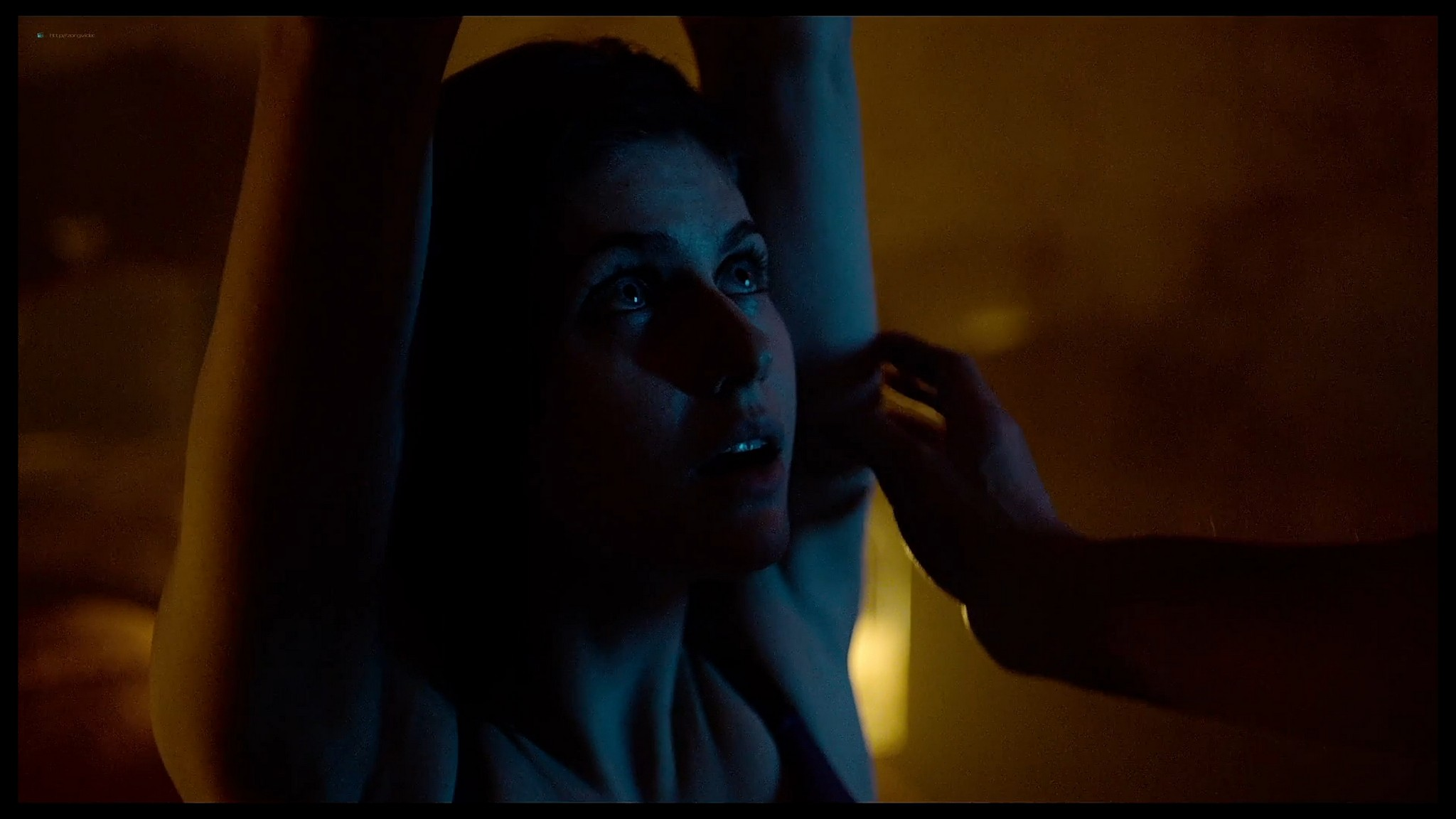 Alexandra Daddario nude butt and topless Lost Girls and Love Hotels 2020 HD 1080p Web 006