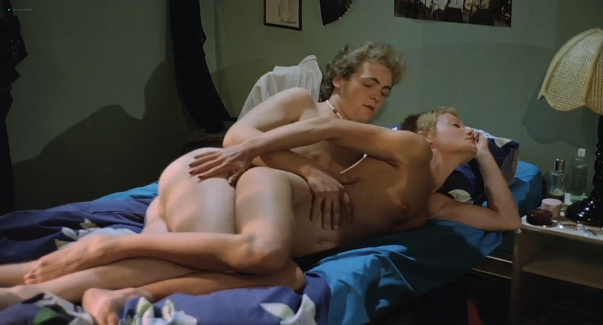 Brigitte Lahaie nude labia Nadine Pascal and other nude full frontal and sex Six Swedish Girls in a Boarding School 1979 HD 720p 013