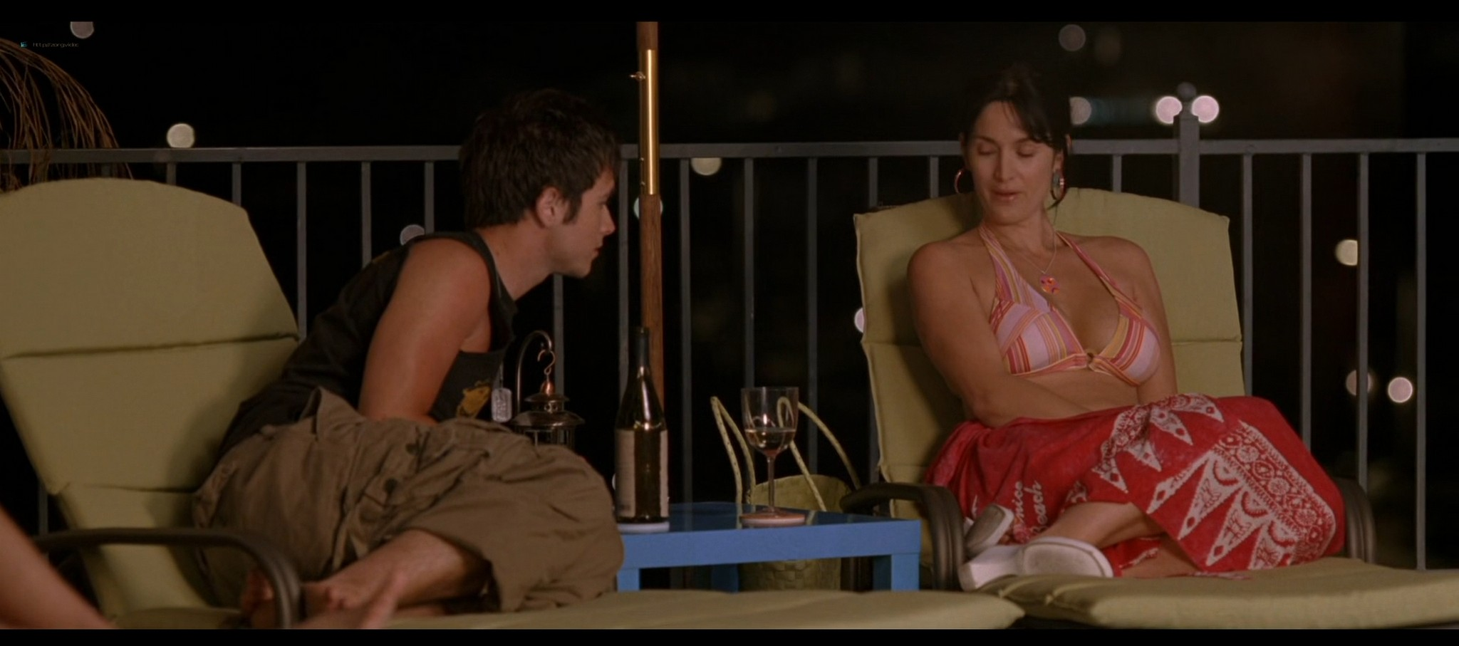 Carrie Anne Moss hot in bikini and Camilla Belle sexy The Chumscrubber 2005 HD 1080p 008