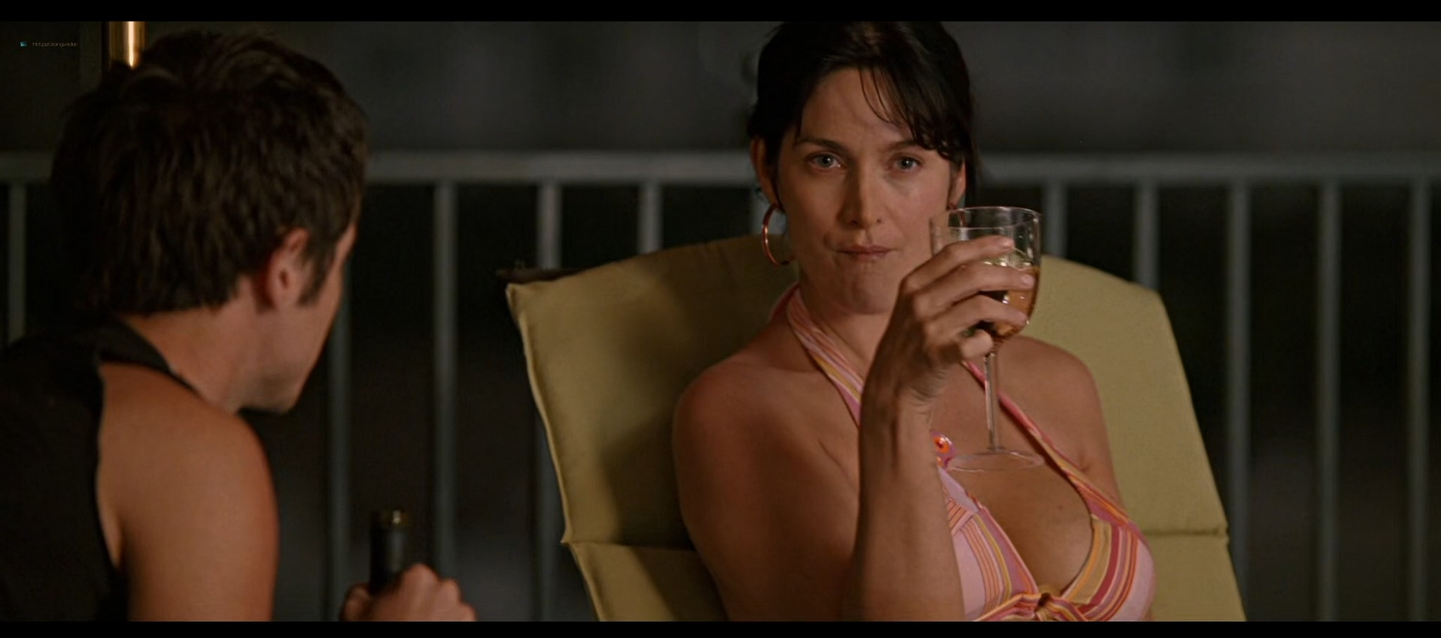 Carrie Anne Moss hot in bikini and Camilla Belle sexy The Chumscrubber 2005 HD 1080p 013