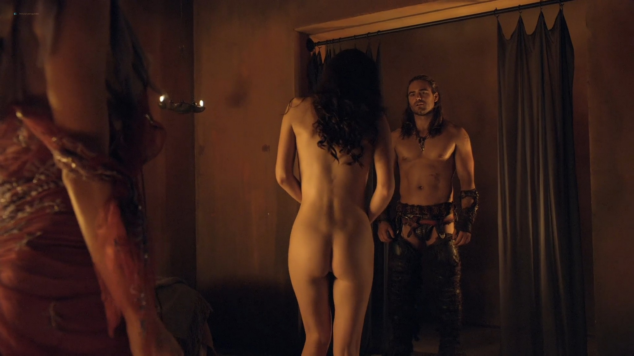 Gwendoline Taylor nude full frontal Jenna Lind Ellen Hollman and others nude sex too Spartacus 2013 HD 1080p BluRay 003