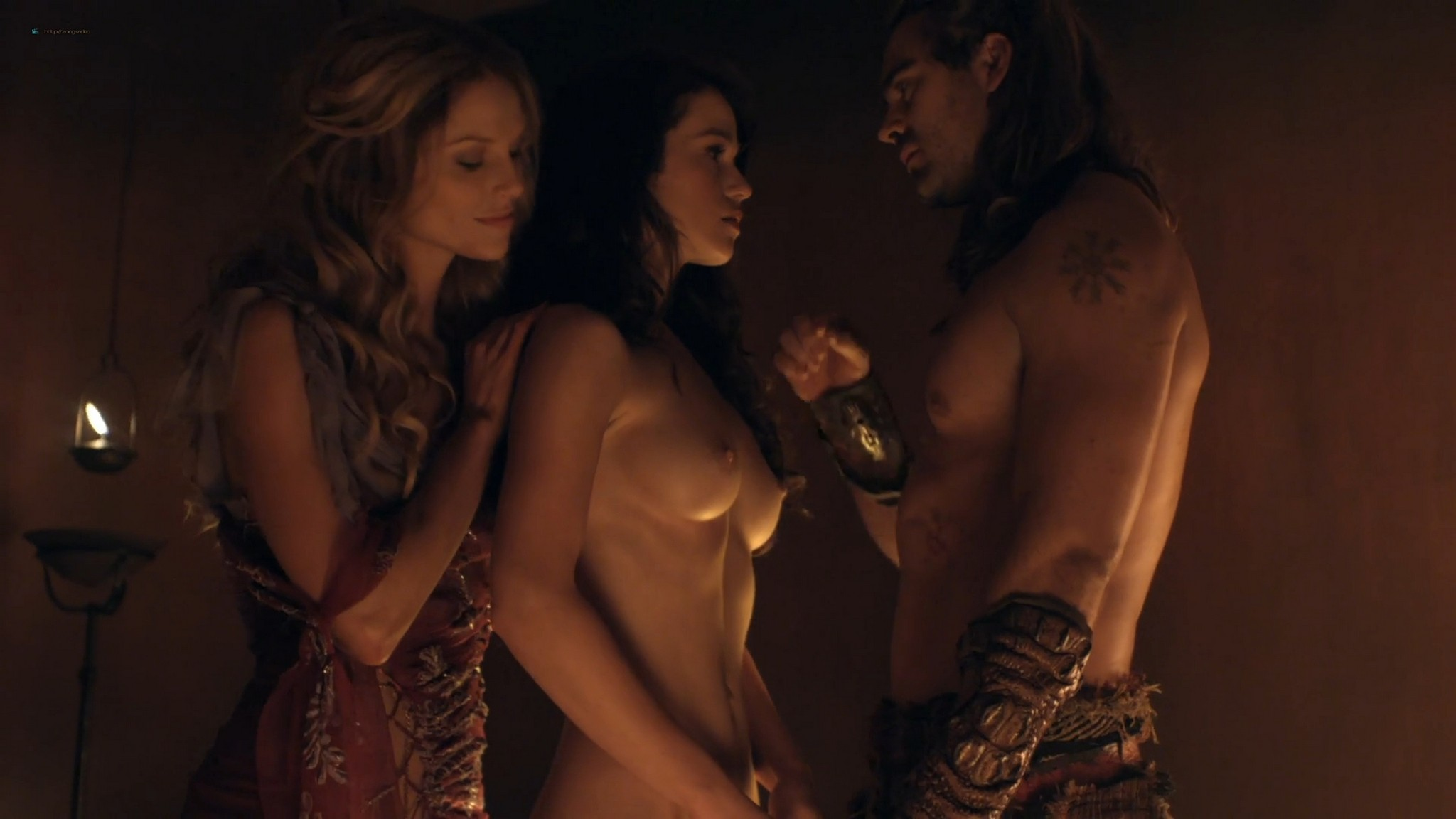 Gwendoline Taylor nude full frontal Jenna Lind Ellen Hollman and others nude sex too Spartacus 2013 HD 1080p BluRay 005