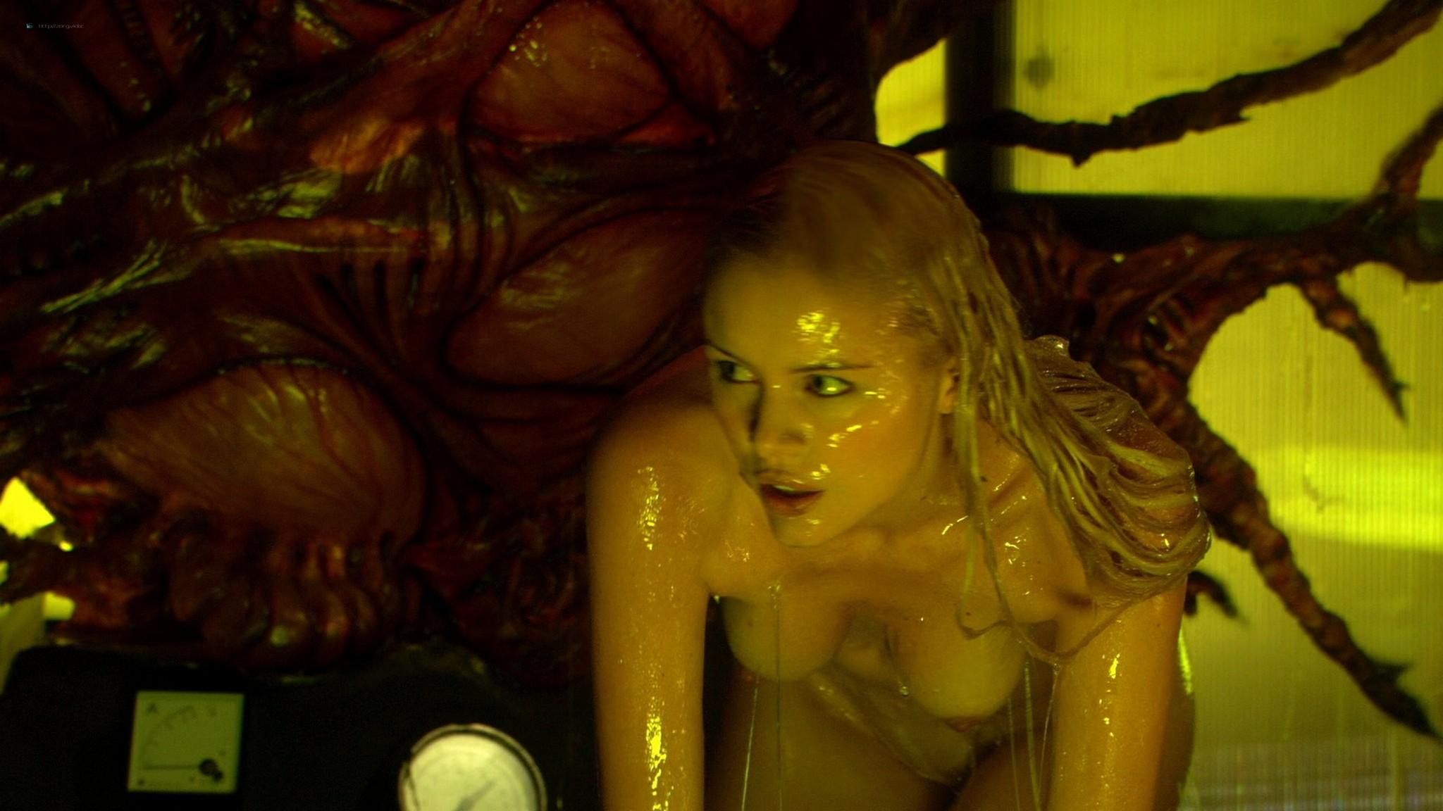 Helena Mattsson nude full frontal and Marlene Favela nude Species The Awakening 2007 HD 1080p BluRay REMUX 007