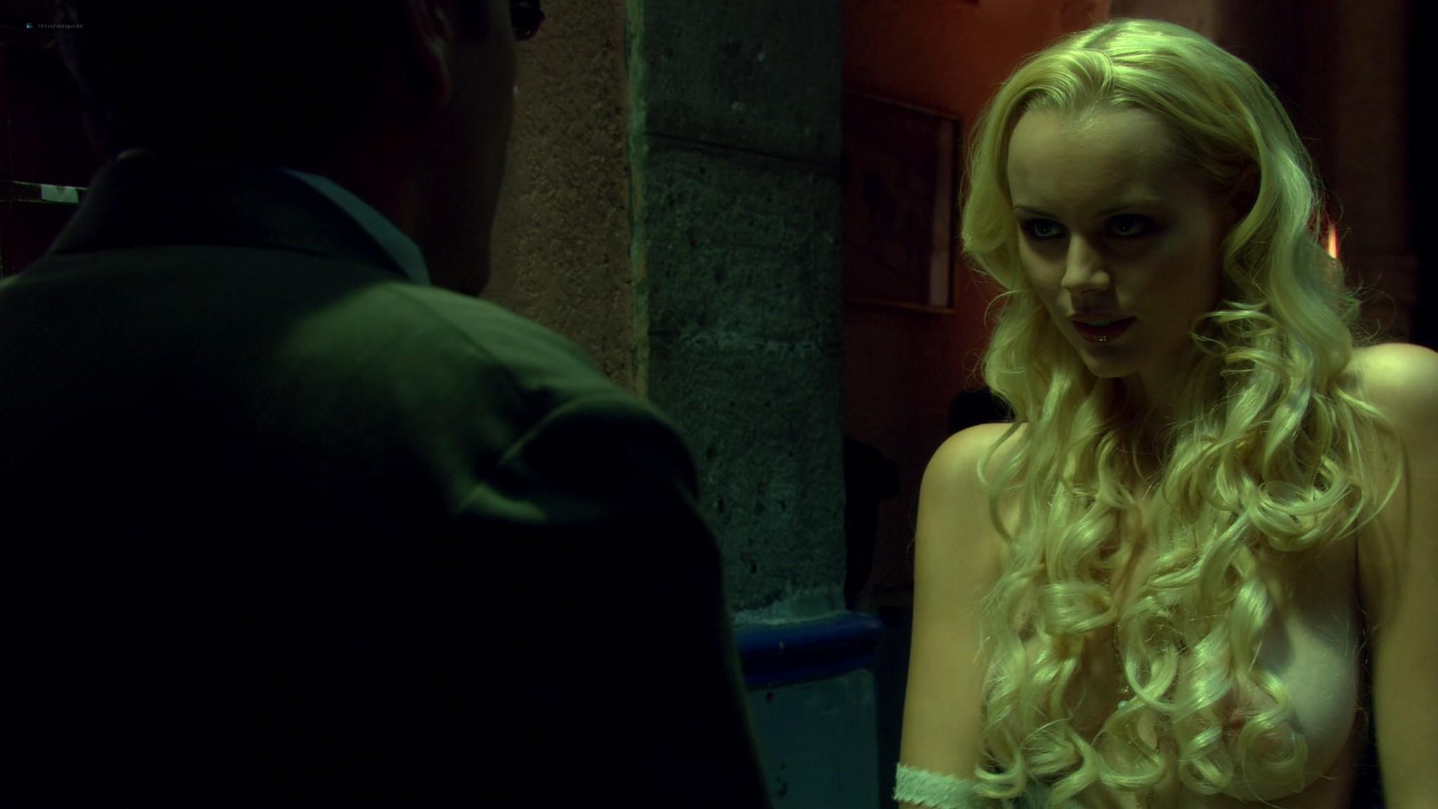 Helena Mattsson nude full frontal and Marlene Favela nude Species The Awakening 2007 HD 1080p BluRay REMUX 011