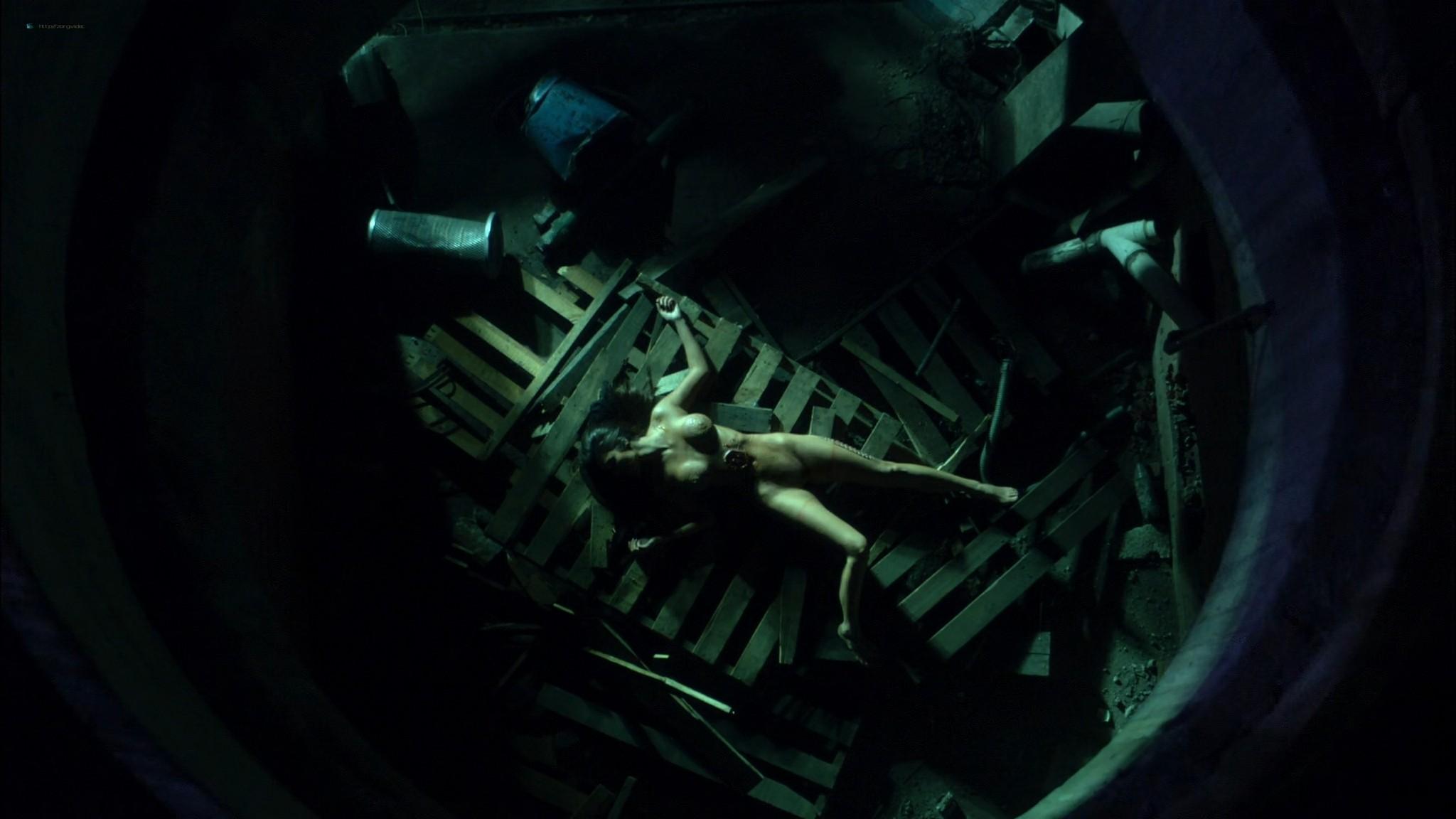 Helena Mattsson nude full frontal and Marlene Favela nude Species The Awakening 2007 HD 1080p BluRay REMUX 022