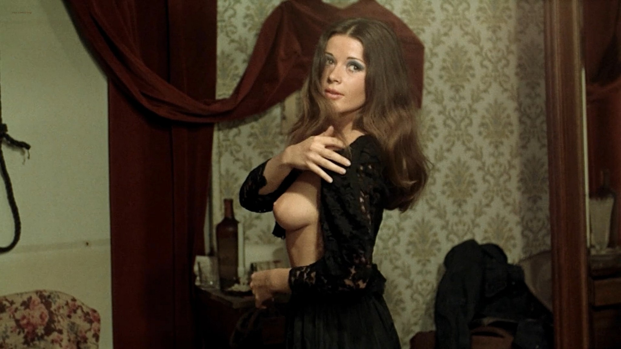 Joelle Coeur nude full frontal and others nude – The Demoniacs 1974 HD 1080p BluRay005