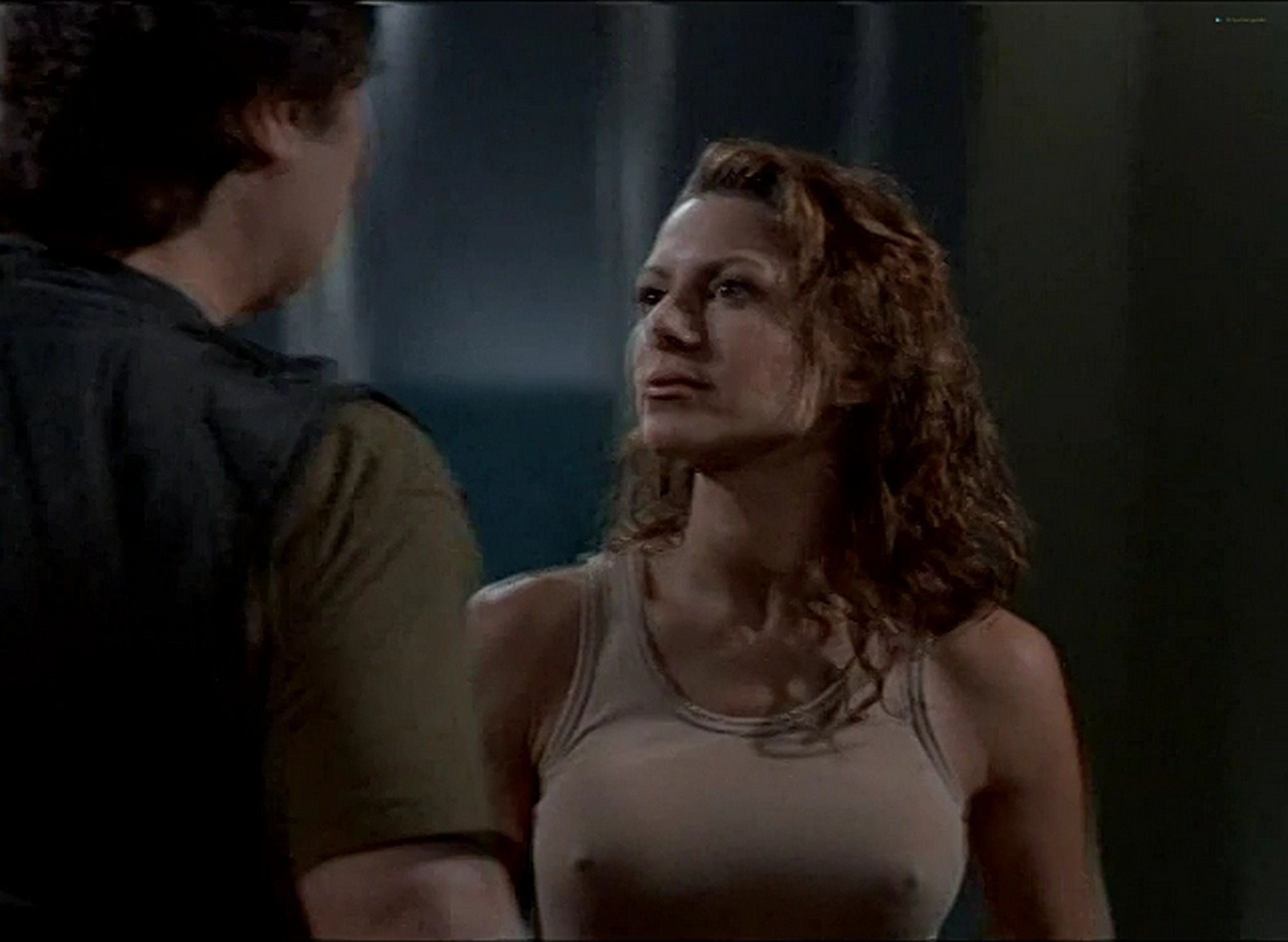 Kari Wuhrer hot and sexy Fatal Conflict 2000 015