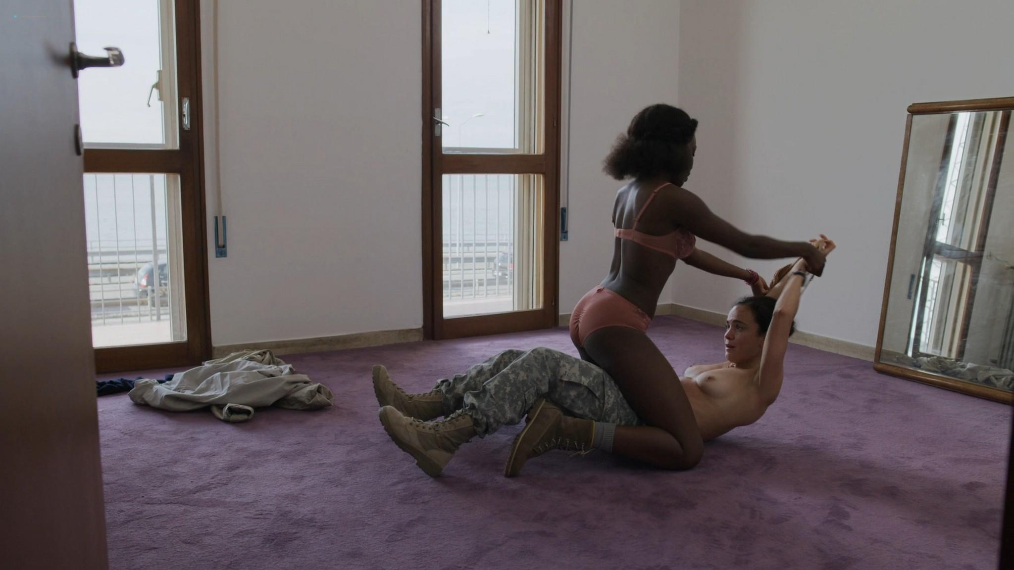 Alice Braga nude lesbian sex with Faith Alabi Chloe Sevigny sexy We Are Who We Are 2020 s1e5 HD 1080p 004