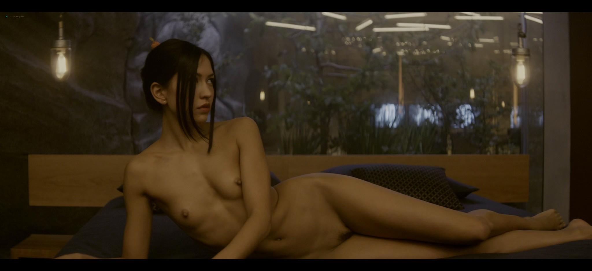 Alicia Vikander nude full frontal Sonoya Mizuno nude bush and others nude Ex Machina 2015 UHD 2160 1080p 009