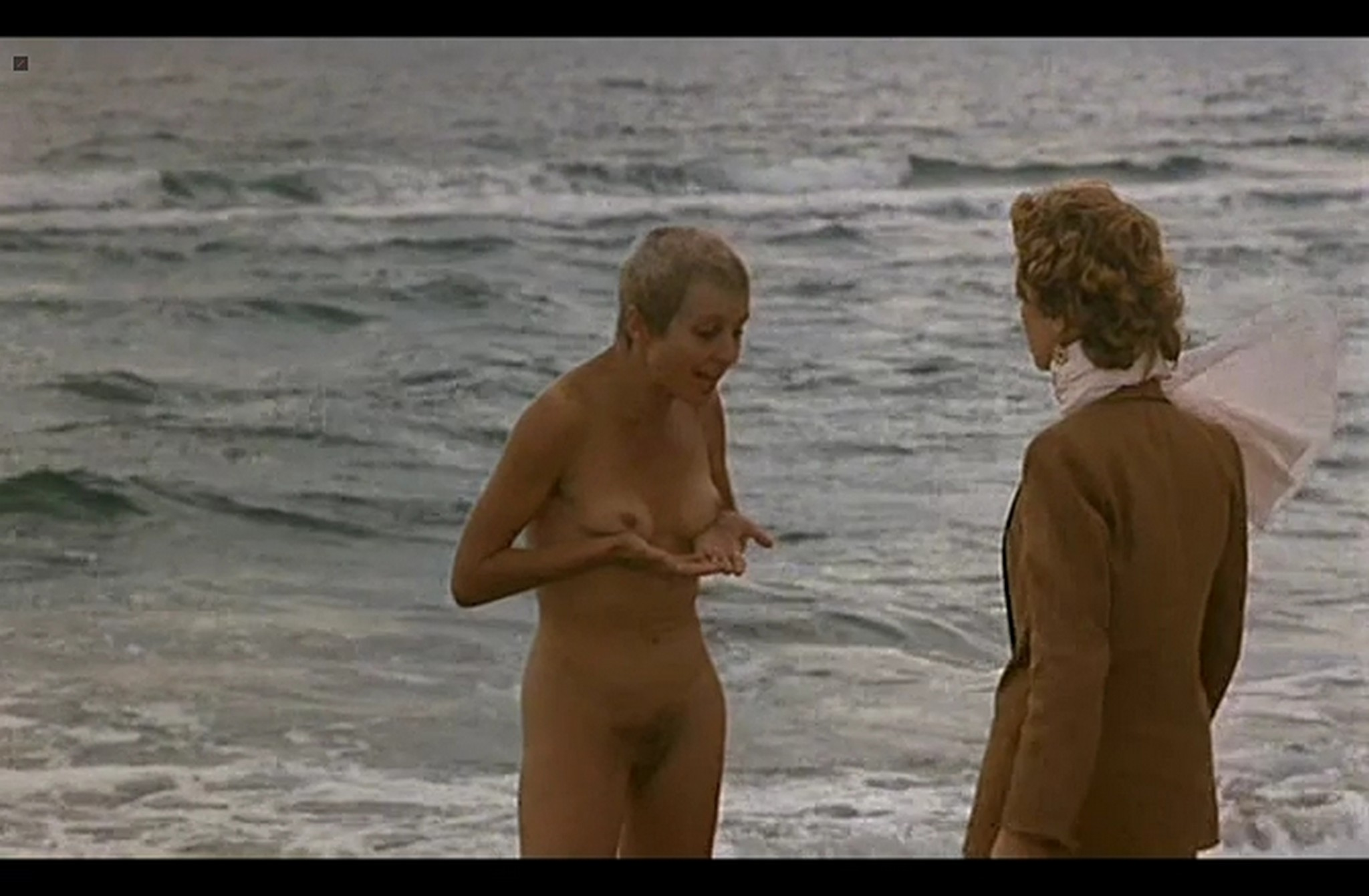 Isabelle Huppert nude full frontal and Hanna Schygulla nude bush Storia di Piera IT 1983 DvDrip 009