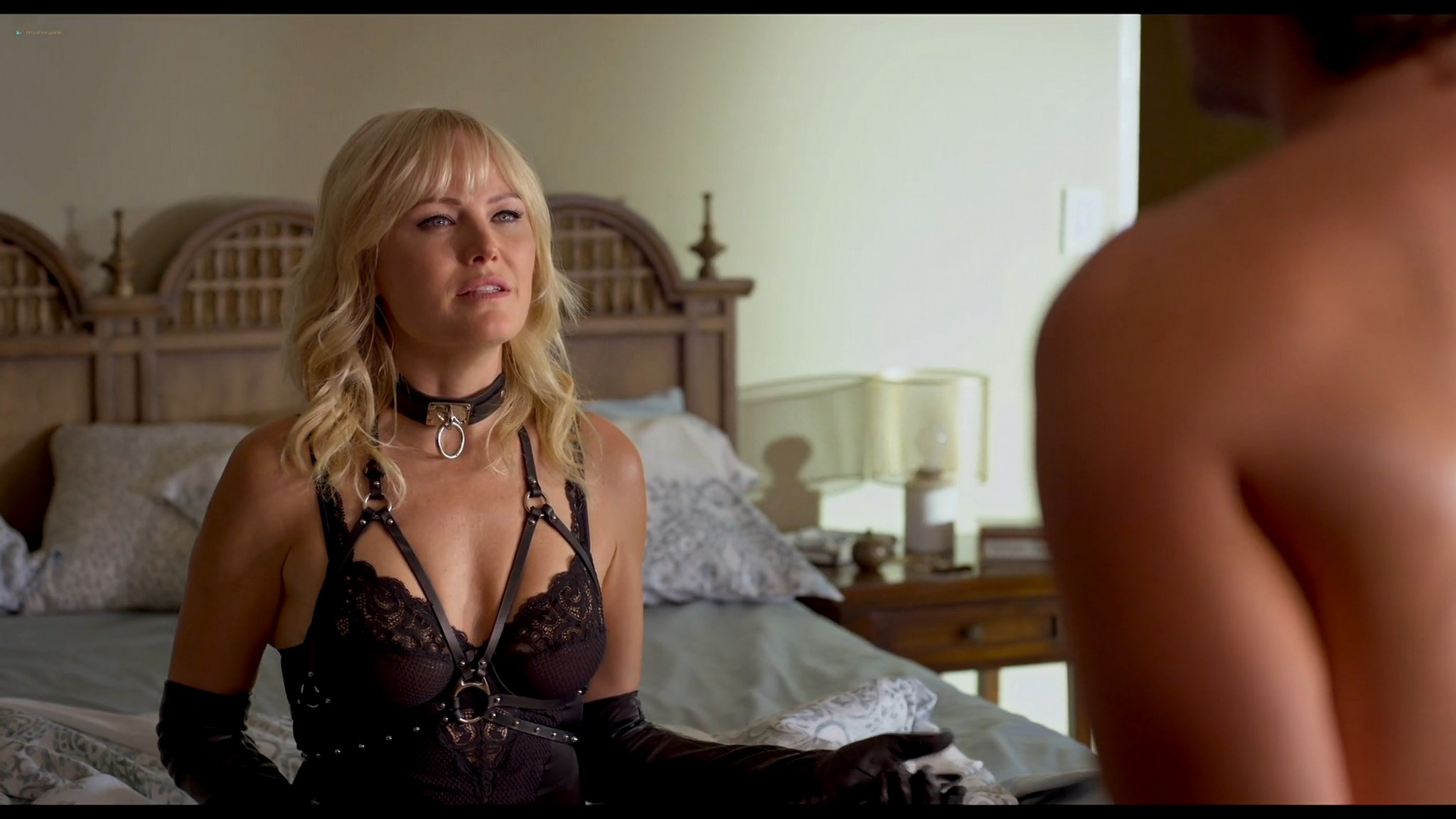 Malin Akerman hot and sexy Friendsgiving 2020 HD 1080p BluRay 002
