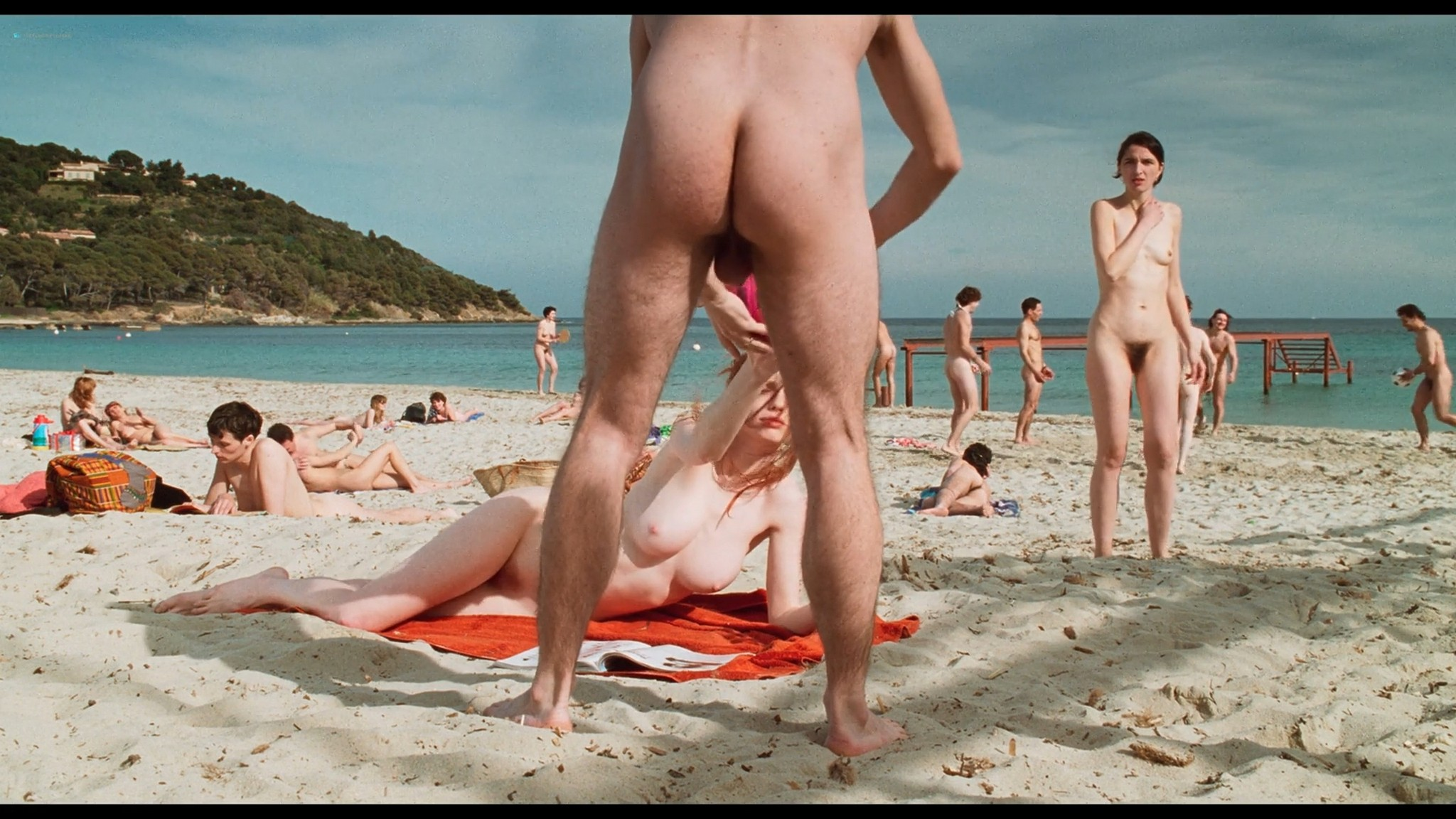 Marie Riva nude full frontal Aurelie Guichard nude Riens du tout FR 1992 HD 1080p BluRay 005