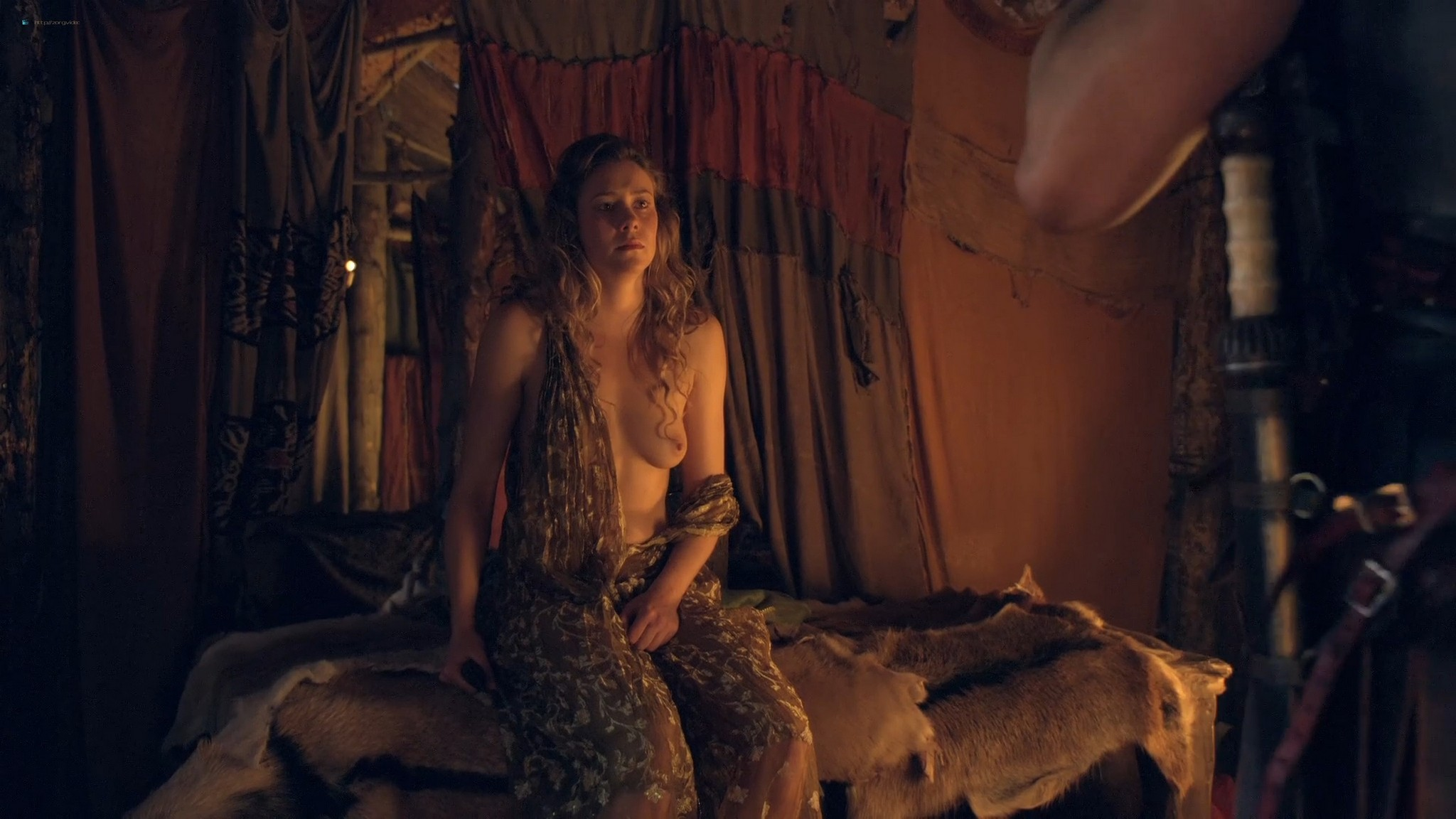 T Ann Robson nude full frontal Gwendoline Taylor nude too Spartacus 2013 s3e9 10 1080p BluRay 002