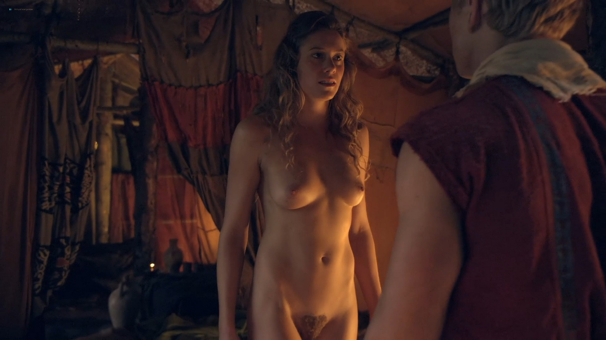 T Ann Robson nude full frontal Gwendoline Taylor nude too Spartacus 2013 s3e9 10 1080p BluRay 005