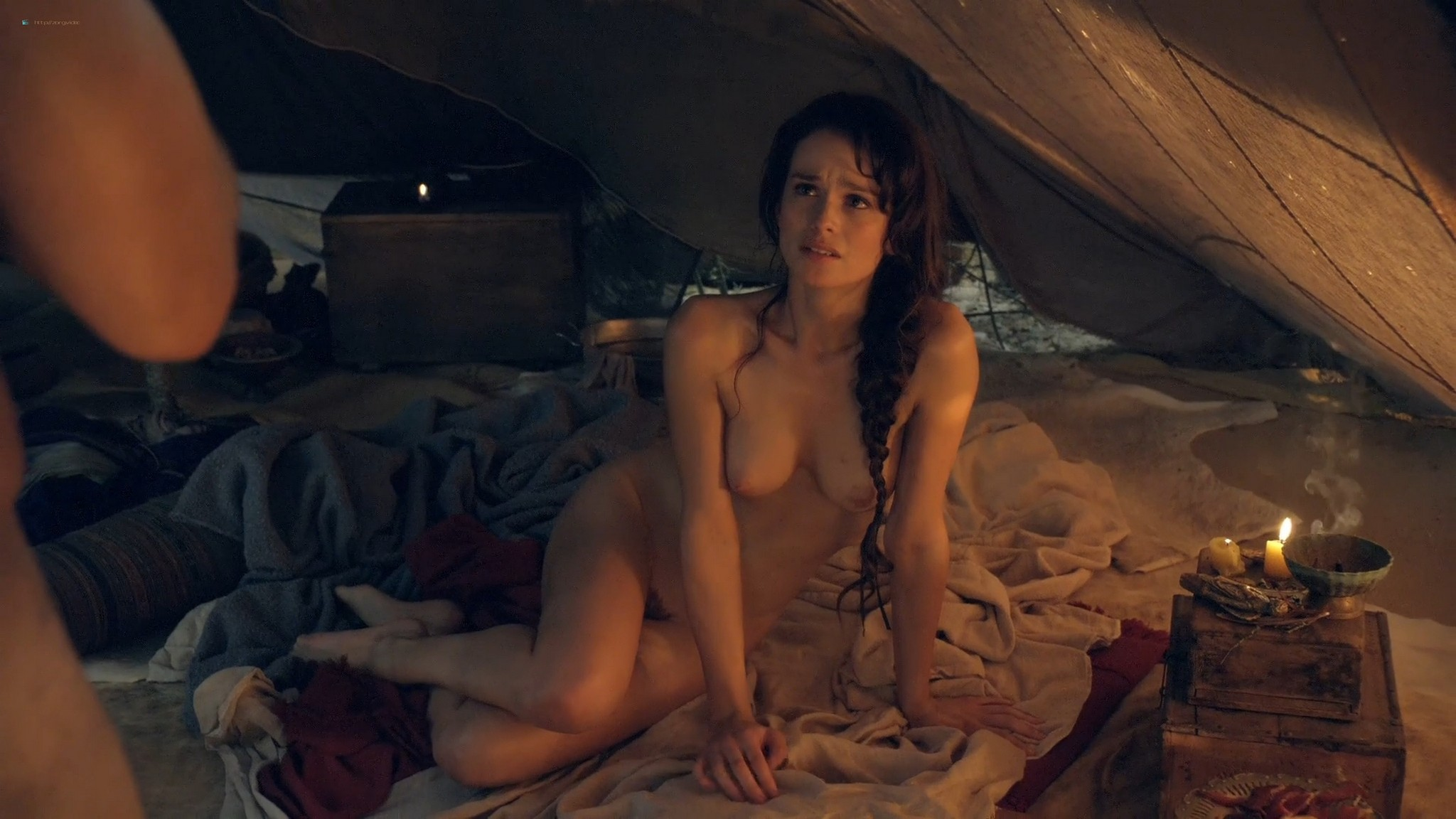 T Ann Robson nude full frontal Gwendoline Taylor nude too Spartacus 2013 s3e9 10 1080p BluRay 014