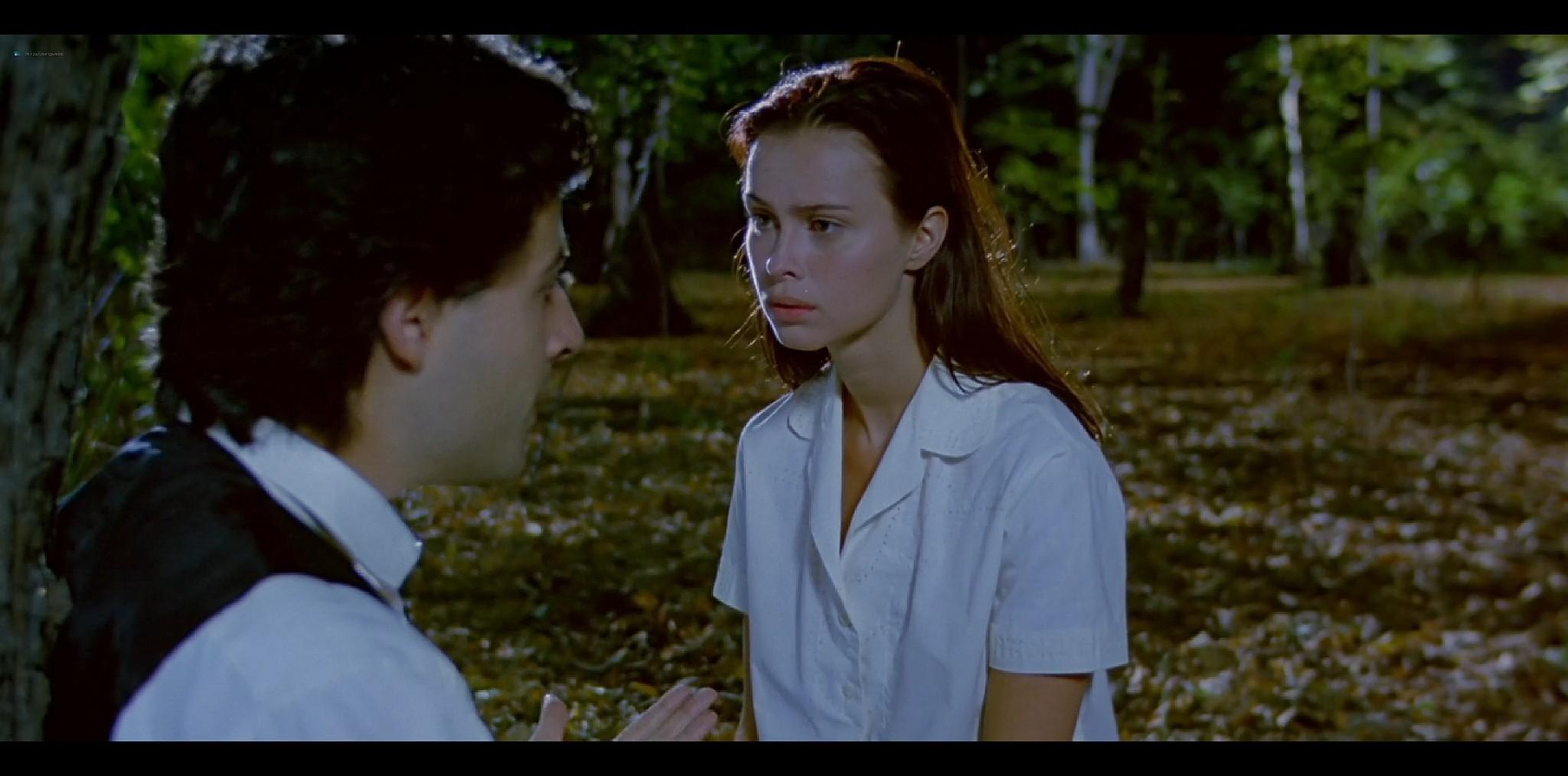 Agathe de La Fontaine nude bush another nude full frontal Train de vie FR 1998 HD 1080p BluRay 007